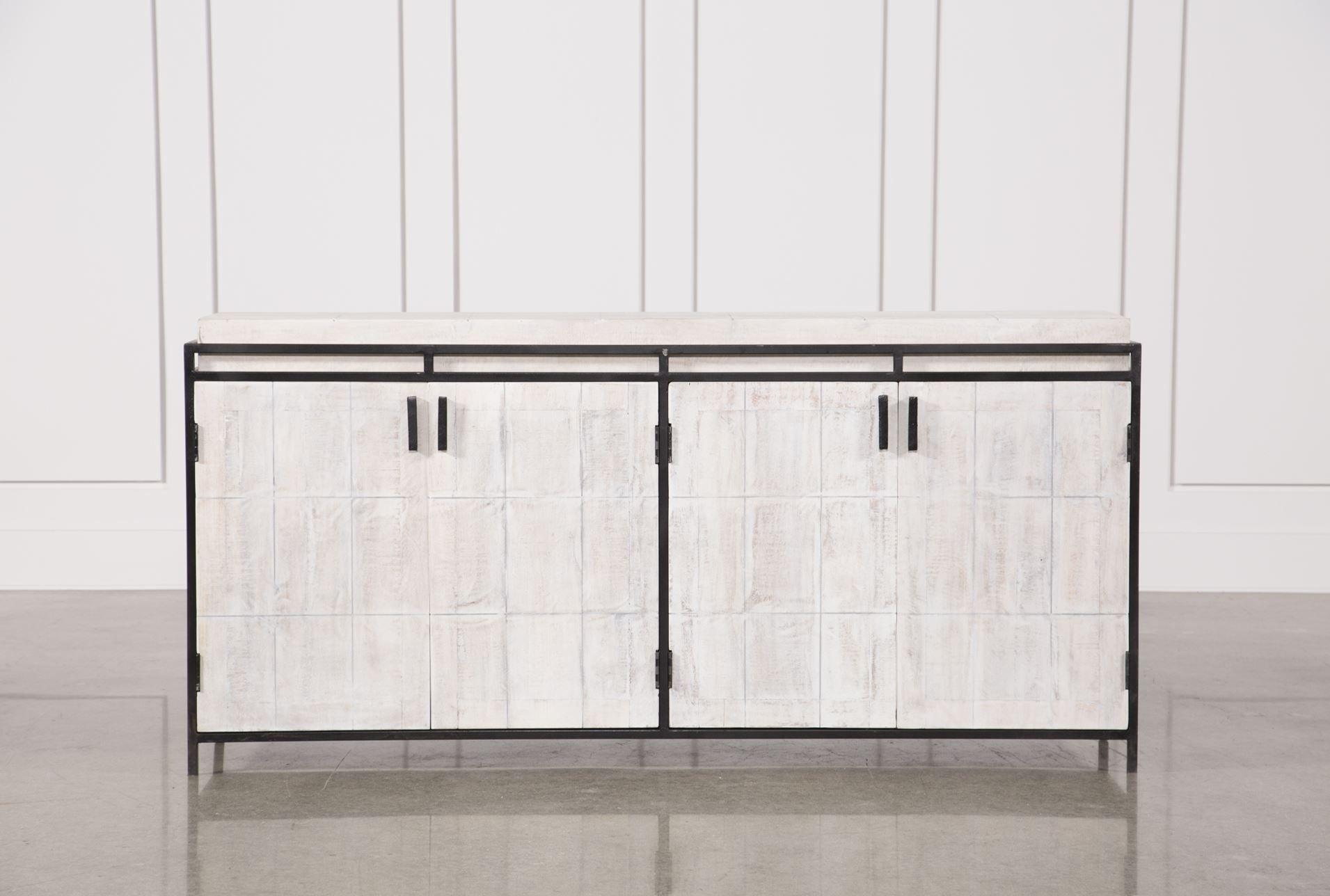 Inspiration about White Wash Finish 4 Door Large Sideboard | Office | Pinterest | Doors Regarding Recent White Wash 4 Door Sideboards (#15 of 20)