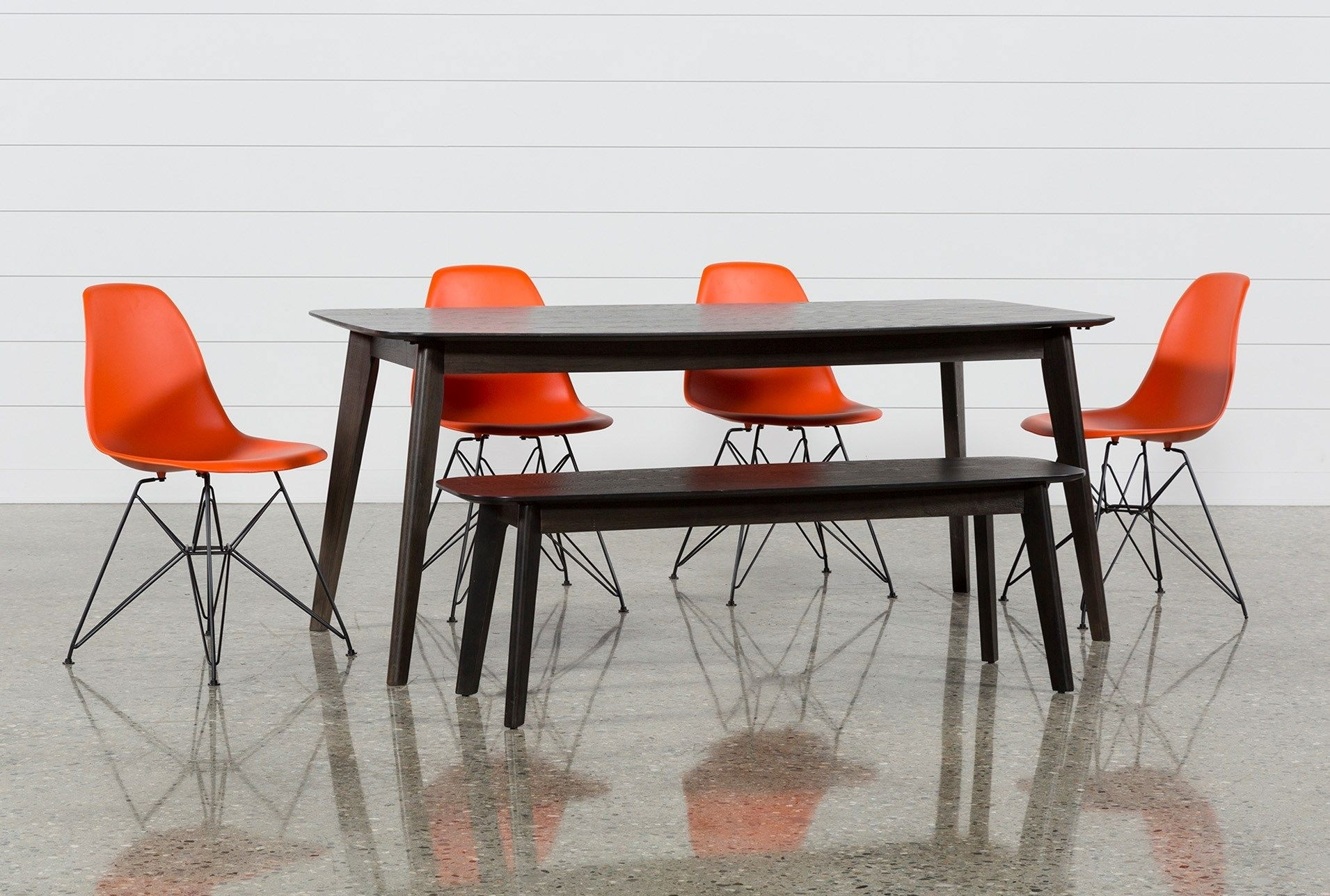 Inspiration about Widely Used Alexa Firecracker Side Chairs Pertaining To Swift 6 Piece Rectangular Dining Set With Alexa Firecracker Side (#7 of 20)
