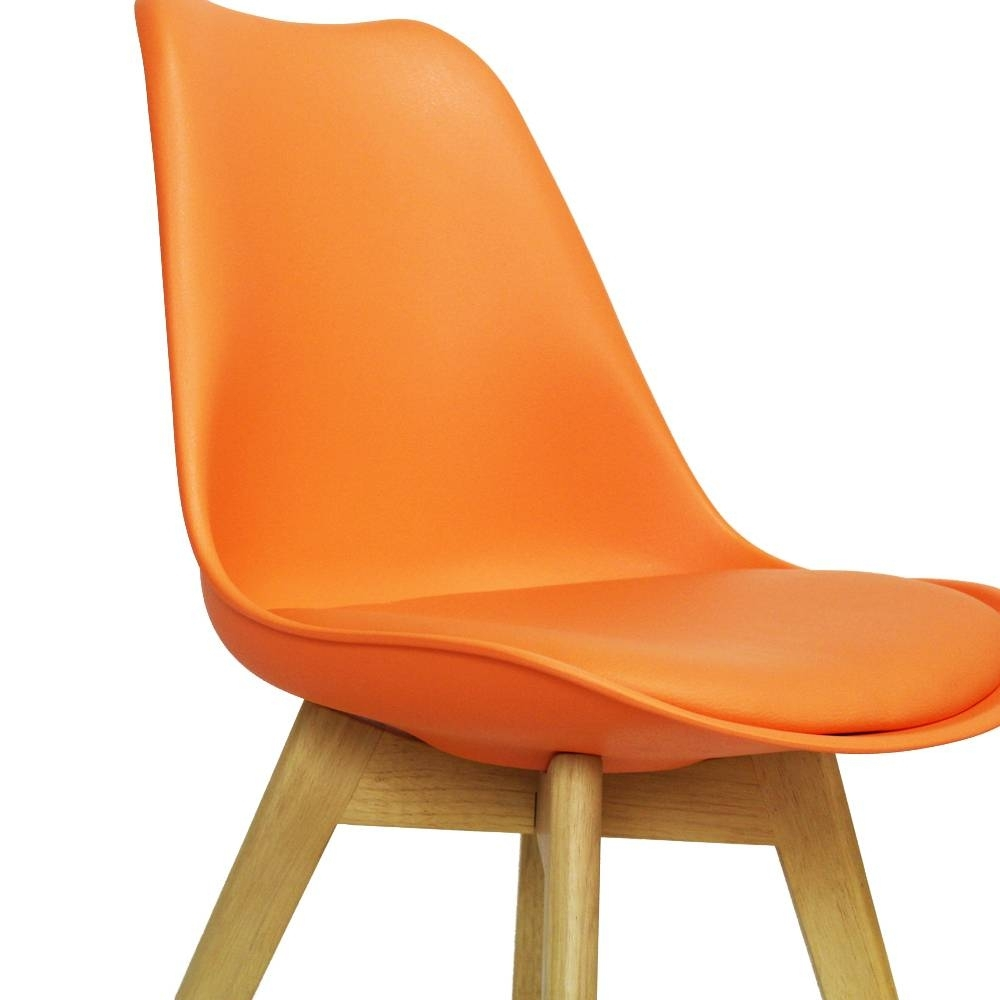 Widely Used Caden Plastic Dining Chair Orange – Shipped Within 24 Hours! – Furnwise For Caden Side Chairs (#18 of 20)