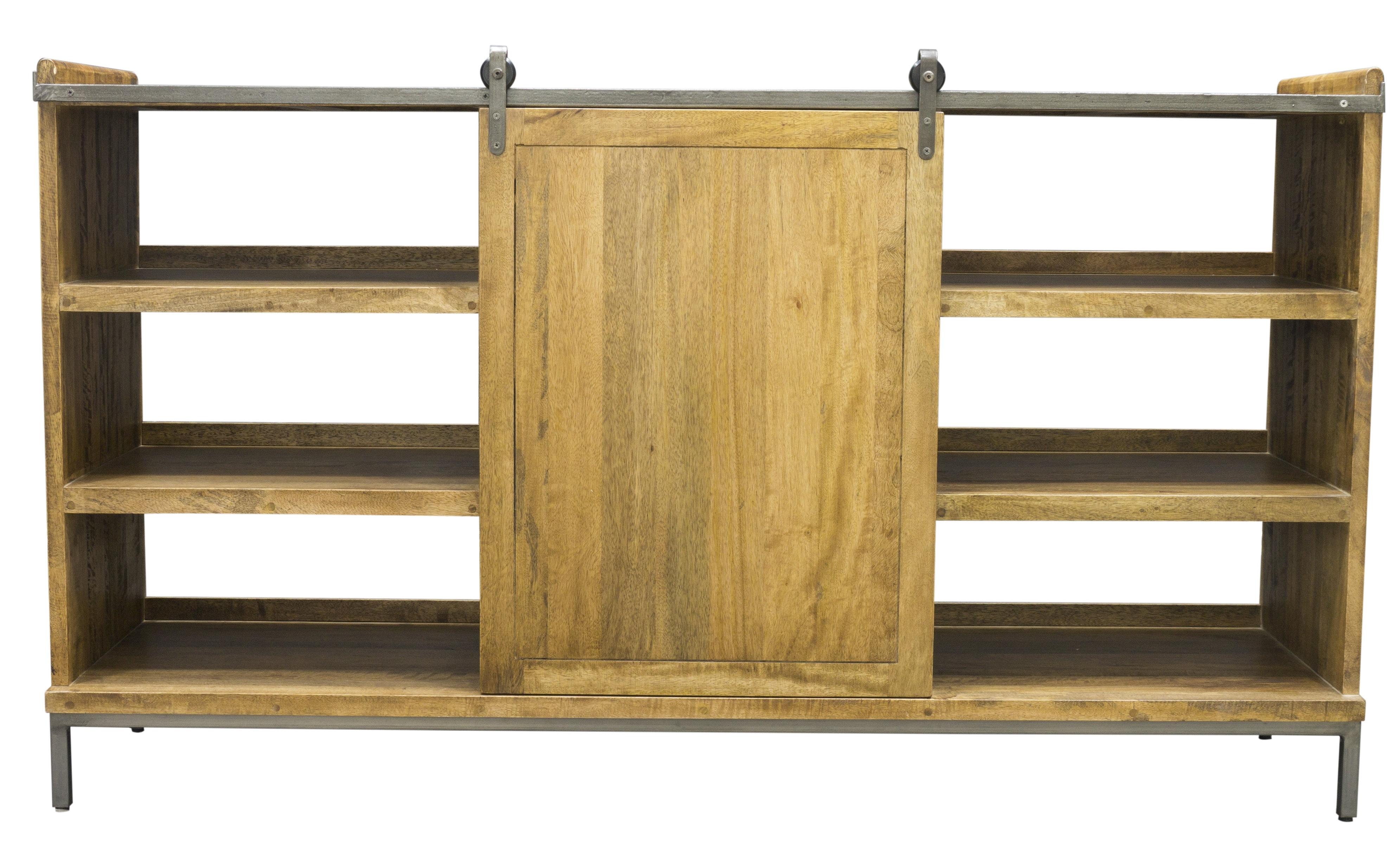 Williston Forge Jodie Sideboard With Sliding Door | Wayfair.co (#20 of 20)