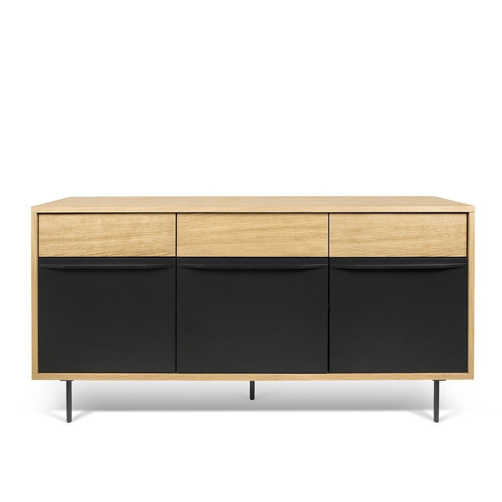 Inspiration about Wind Bookcase | Sideboard Buffet, Black Wood And Credenza Within Current Wyatt Sideboards (#11 of 20)