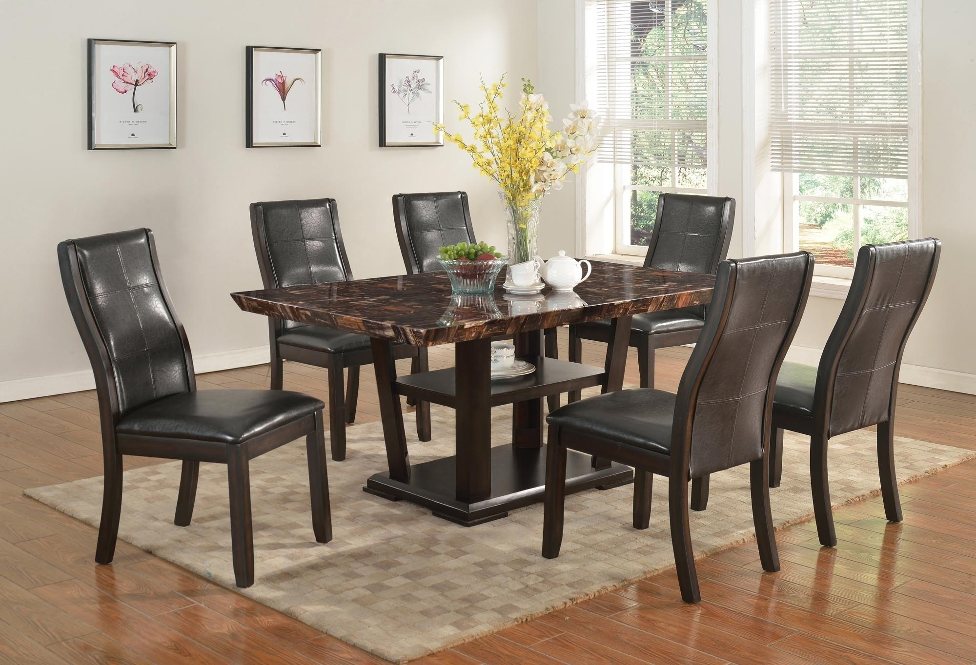 Wood Dinettes And Kitchen Sets Within Latest Bardstown Side Chairs (#20 of 20)