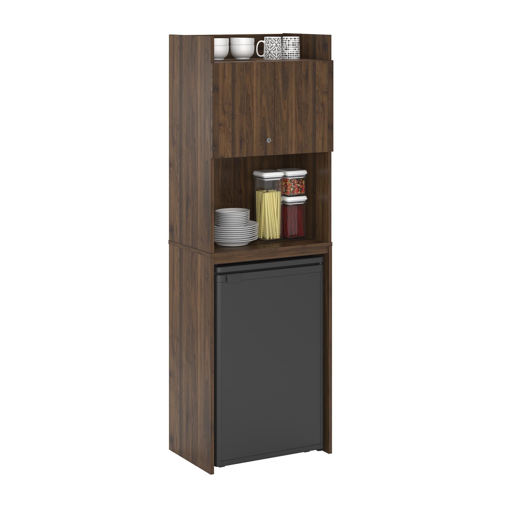 "Wrought Studio Girard 72"" Refrigerator Kitchen Pantry | Wayfair Pertaining To Most Recently Released Girard 4 Door Sideboards (View 10 of 20)"