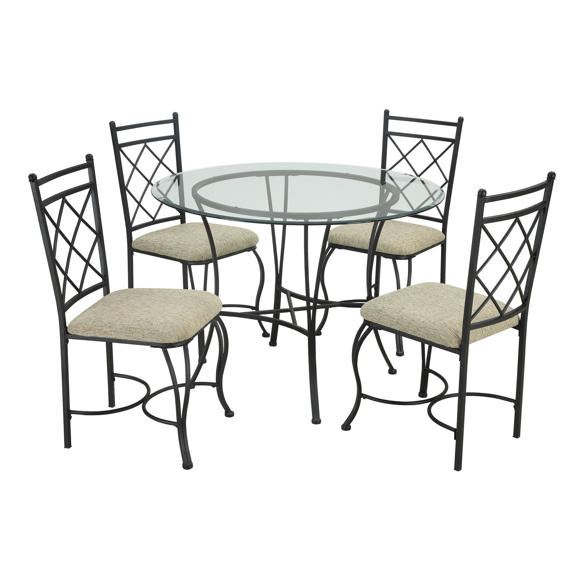 2017 Jarrod 5 Piece Dining Sets Throughout Winston Porter Victor 5 Piece Dining Set & Reviews (#1 of 20)