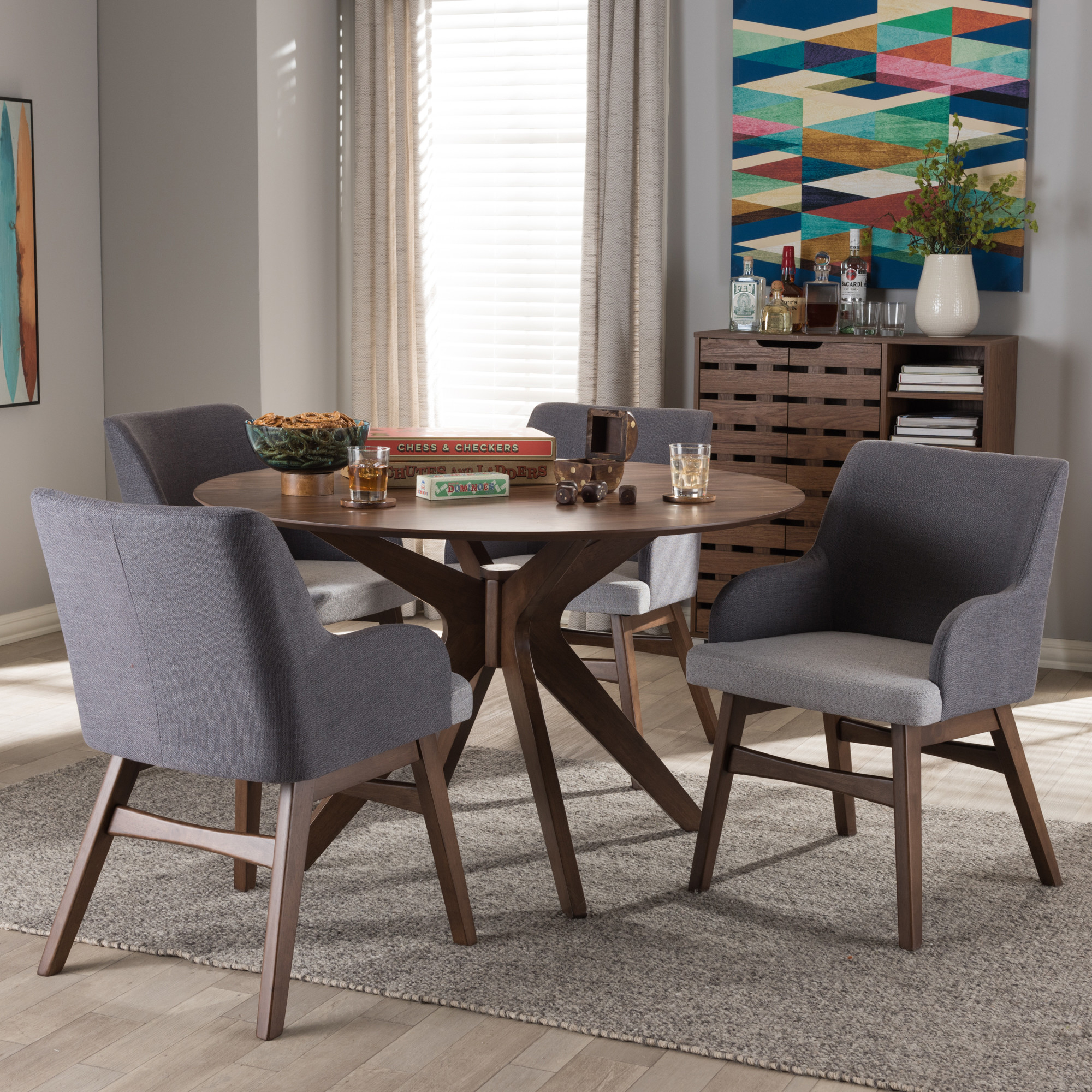 Inspiration about 2017 Wholesale Dining Sets. Room Pier One. 2016 Antique Stackable Metal Within Baxton Studio Keitaro 5 Piece Dining Sets (#17 of 20)