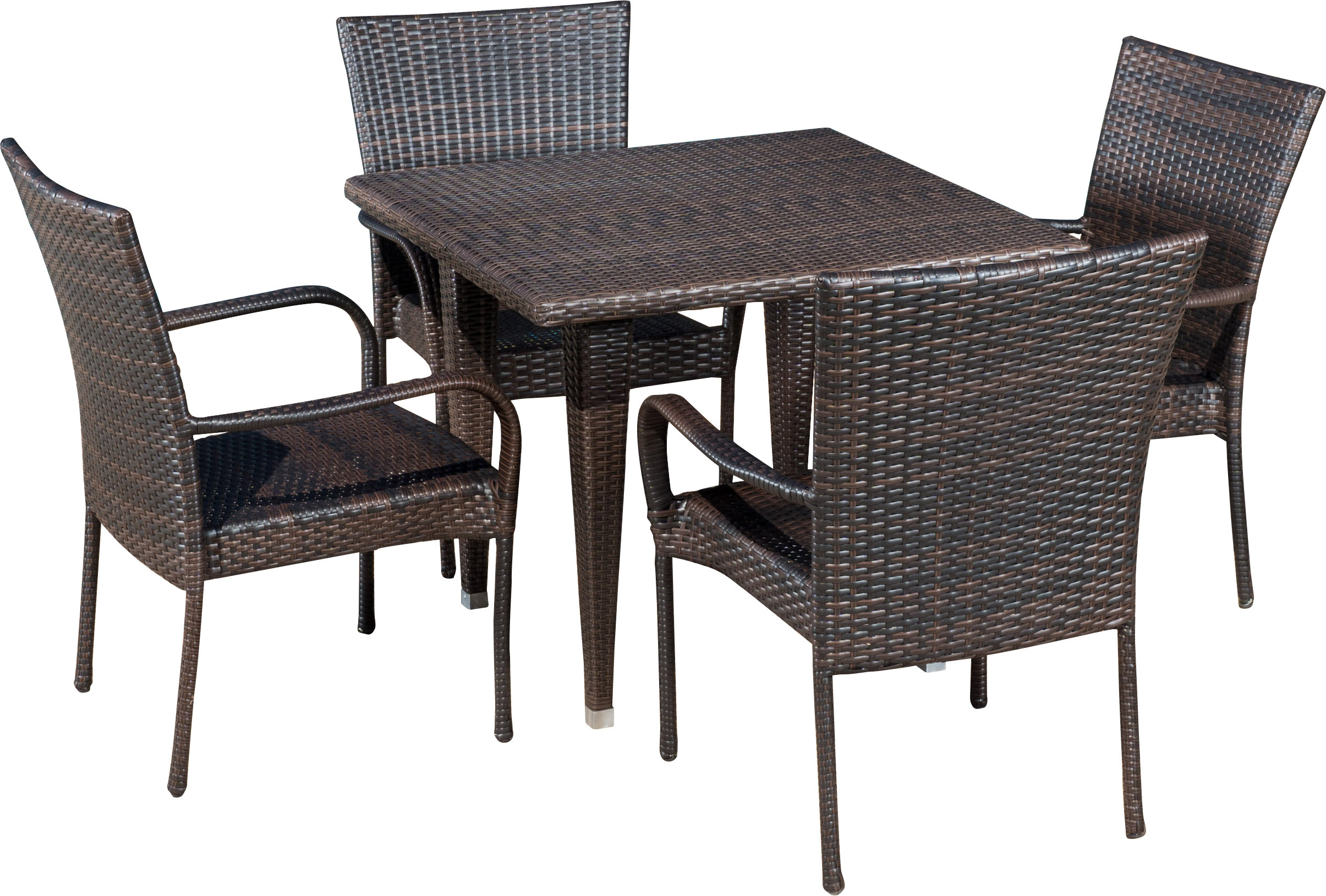 Inspiration about 2018 Gunning Outdoor 5 Piece Dining Set & Reviews (#15 of 20)