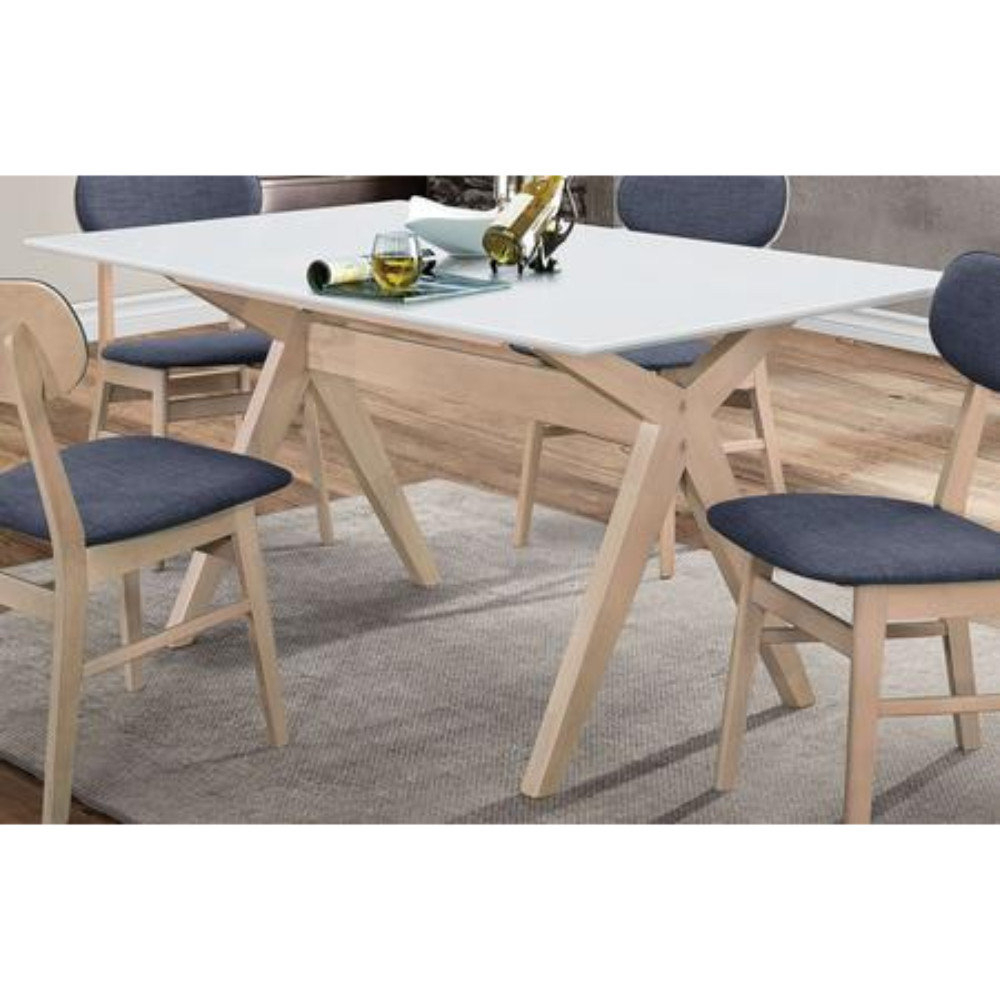 2018 Wrought Studio Nahunta Solid Wood Dining Table (#1 of 20)