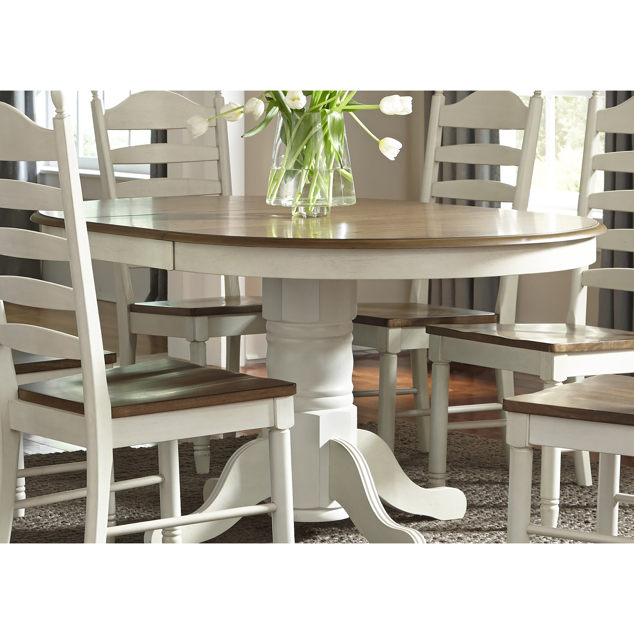 2020 Cincinnati 3 Piece Dining Sets Inside Buy Oval Kitchen & Dining Room Tables Online At Overstock (View 14 of 20)
