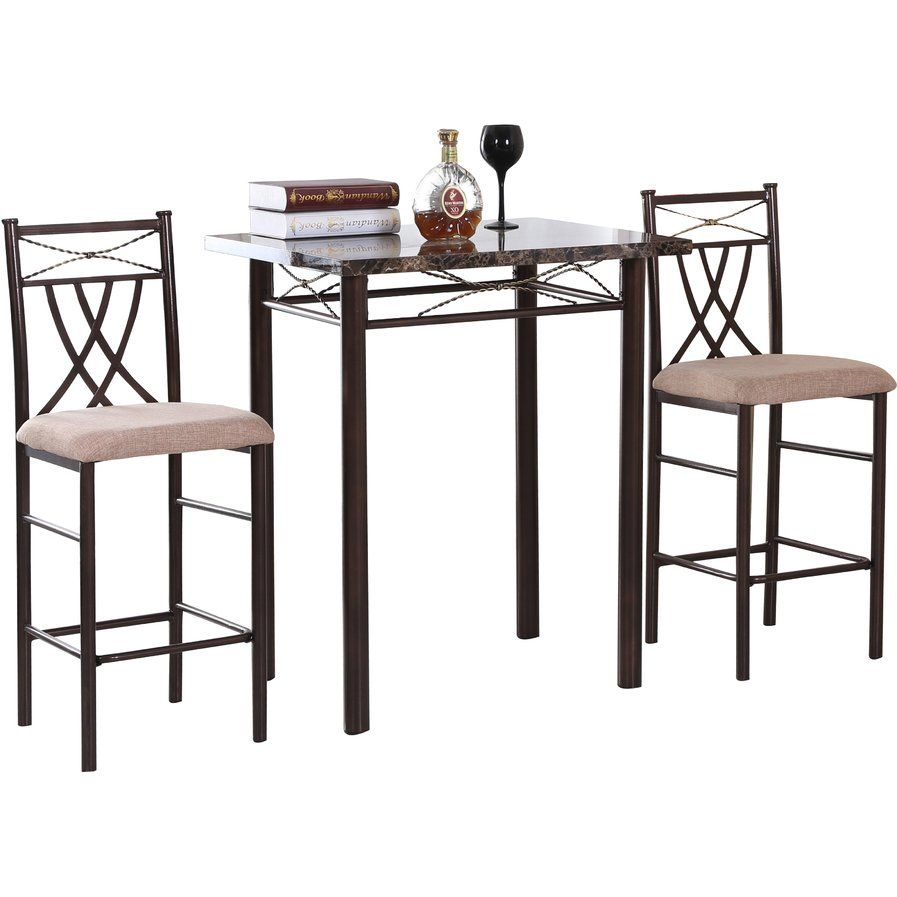 3 Piece Dining Set Within Latest Cincinnati 3 Piece Dining Sets (View 2 of 20)