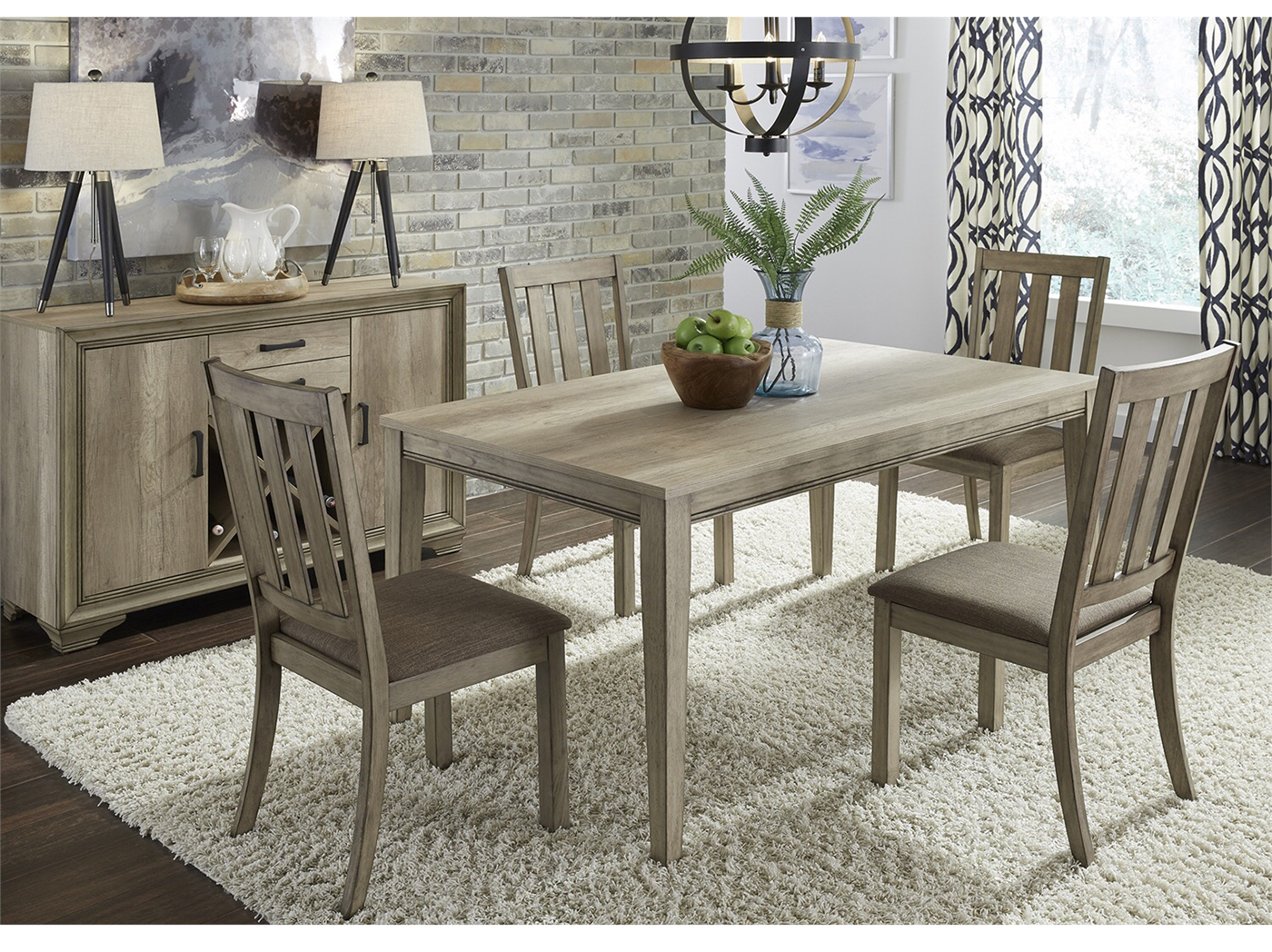 Inspiration about 5 Piece Dining Sets Intended For Favorite Sun Valley 5 Pc. Dining Set (#9 of 20)