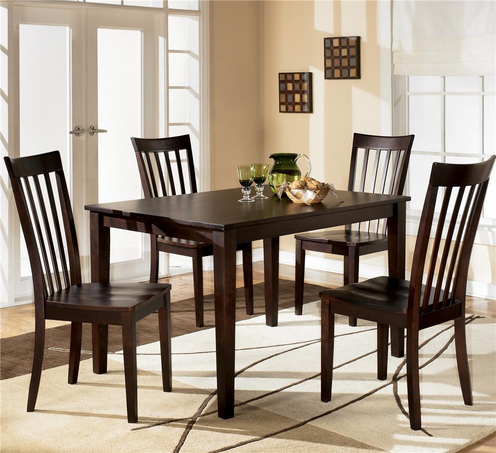 Inspiration about 5 Piece Dining Sets With Regard To Famous Ashley Furniture Hyland D258 225 5 Piece Dining Set With Rectangular (#8 of 20)
