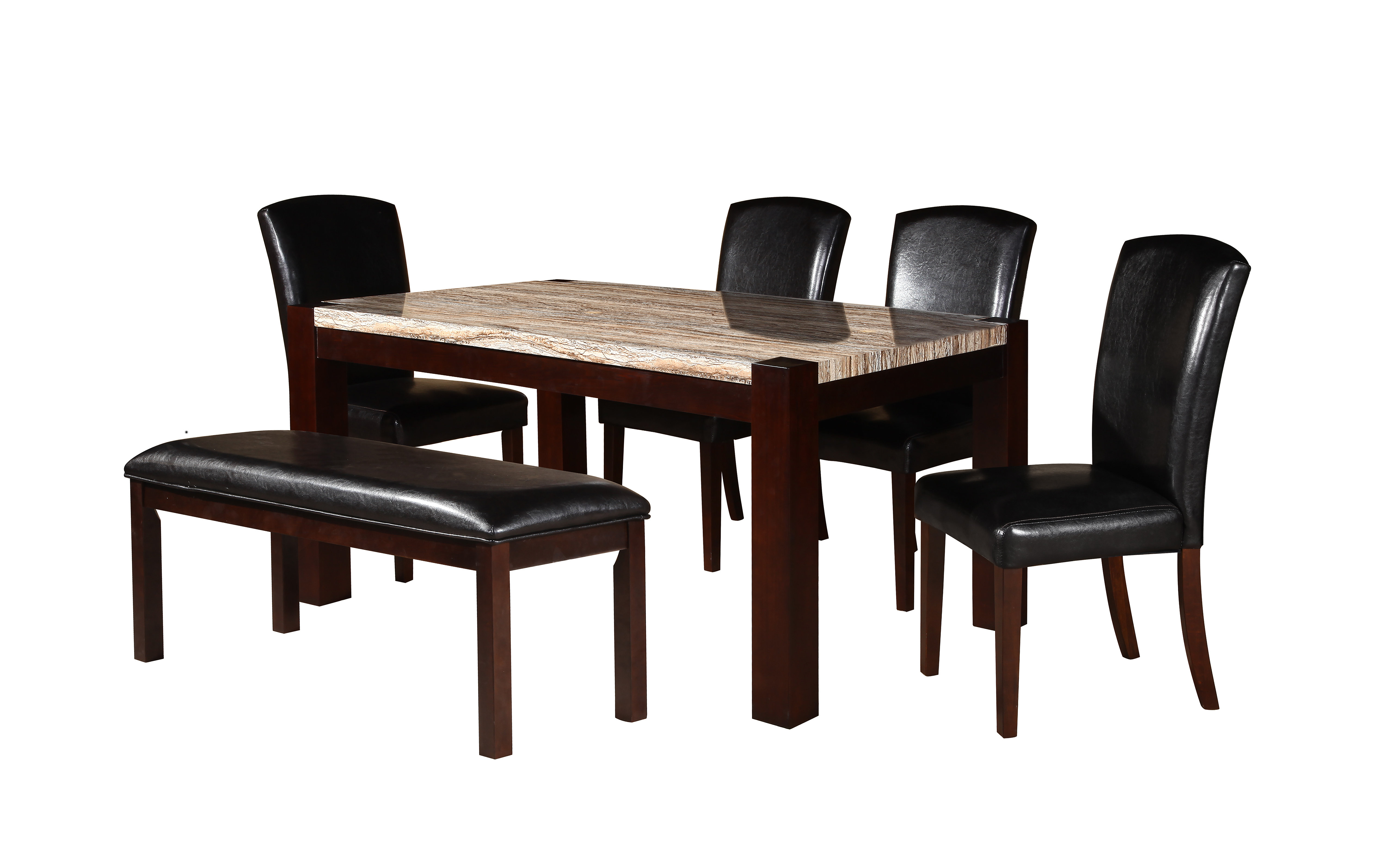 Adan 5 Piece Solid Wood Dining Sets (Set Of 5) In Well Known Darby Home Co Dunnstown 5 Piece Dining Set (#2 of 20)