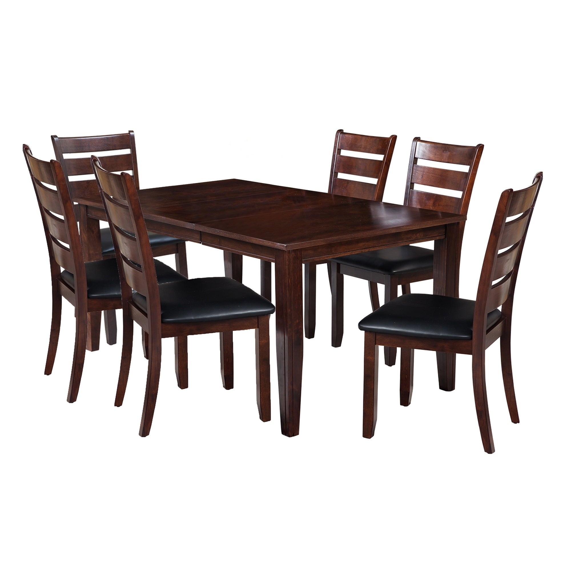 "Adan 5 Piece Solid Wood Dining Sets (Set Of 5) With Most Up To Date Shop 7 Piece Solid Wood Dining Set ""aden"", Modern Kitchen Table Set (#5 of 20)"