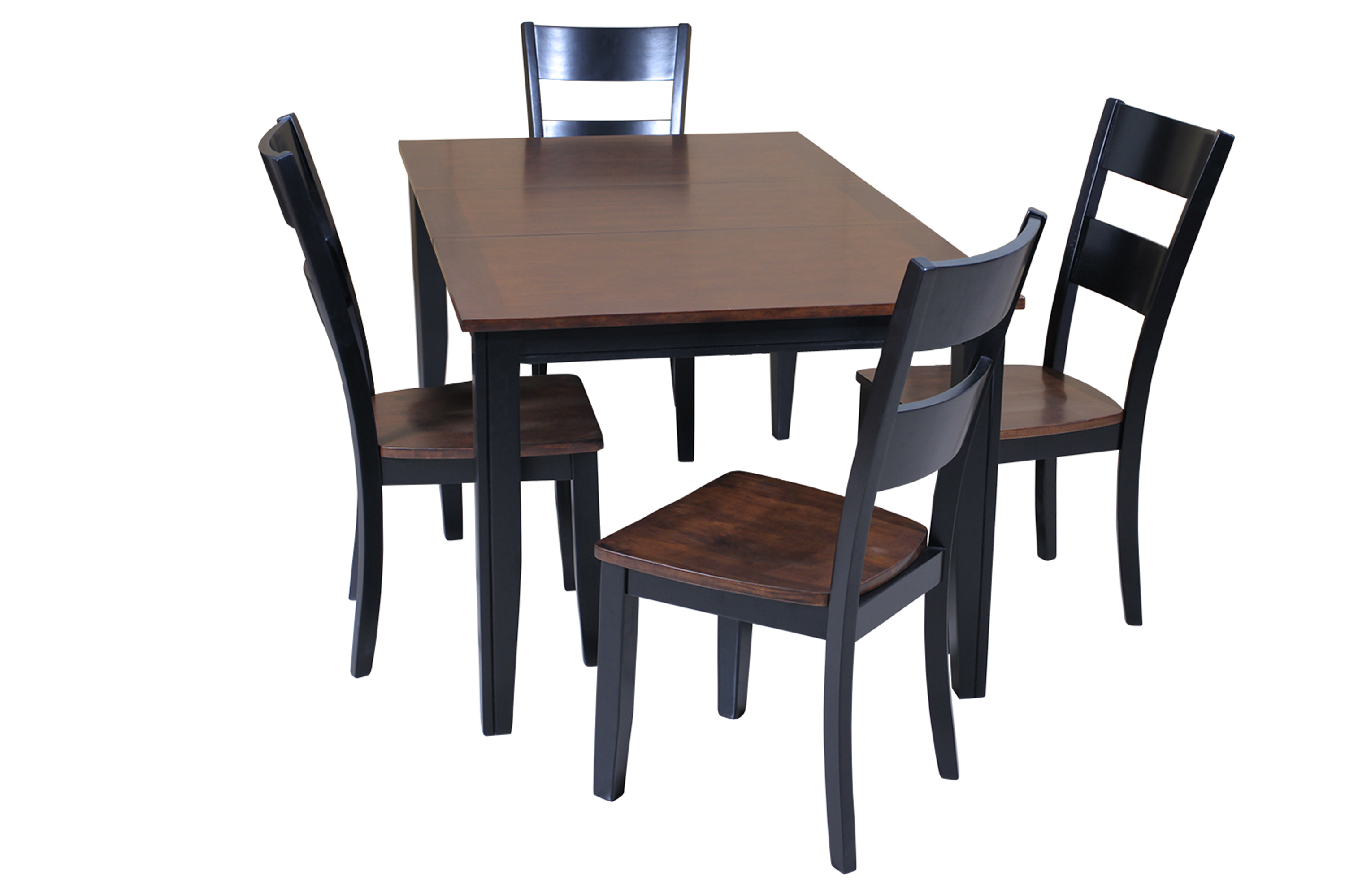 Adan 5 Piece Solid Wood Dining Sets (Set Of 5) With Regard To Most Current Ttp Furnish (#6 of 20)