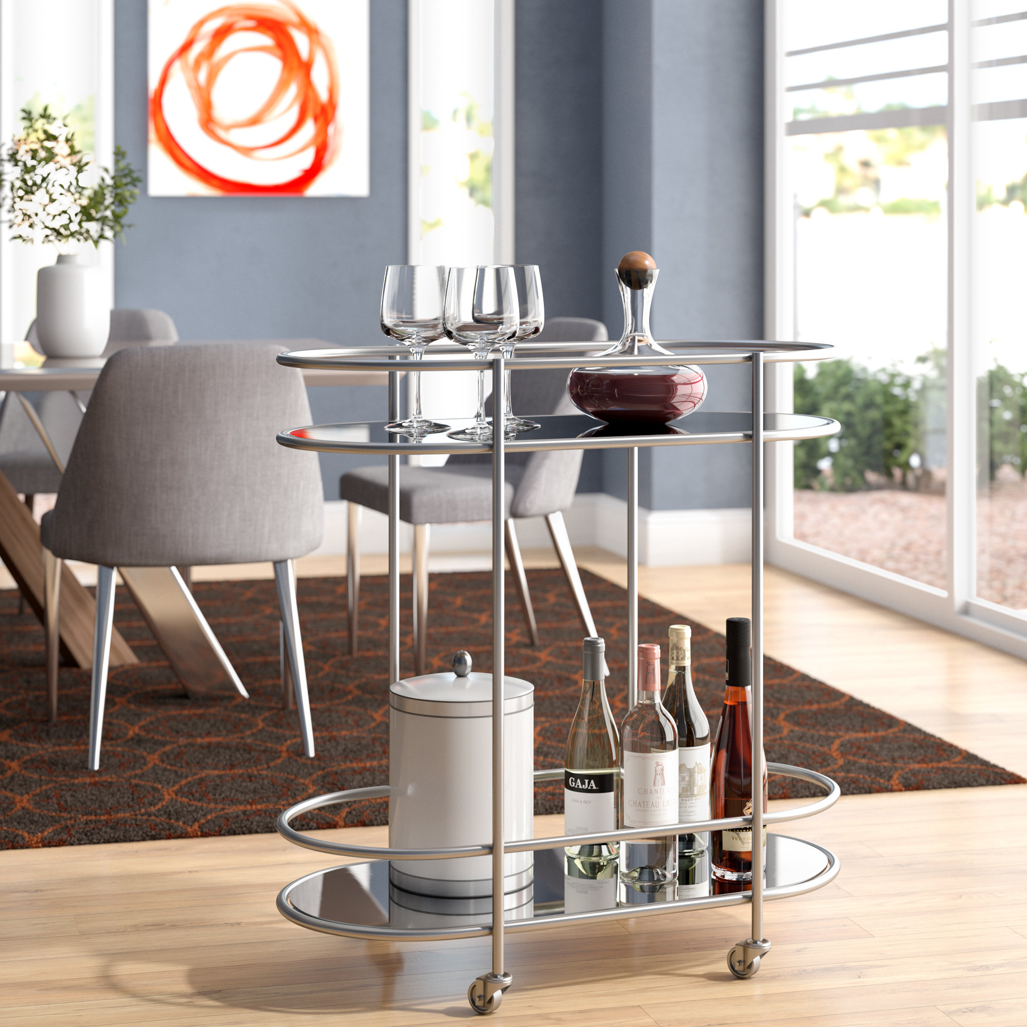 Allmodern Intended For Ganya 5 Piece Dining Sets (View 20 of 20)