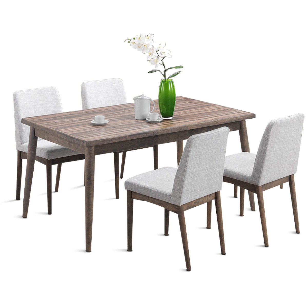 Allmodern Throughout Liles 5 Piece Breakfast Nook Dining Sets (#2 of 20)
