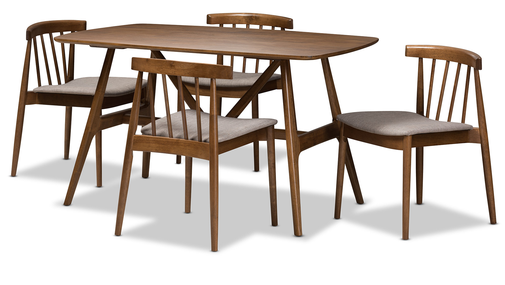 Allmodern With Well Known Lillard 3 Piece Breakfast Nook Dining Sets (View 15 of 20)