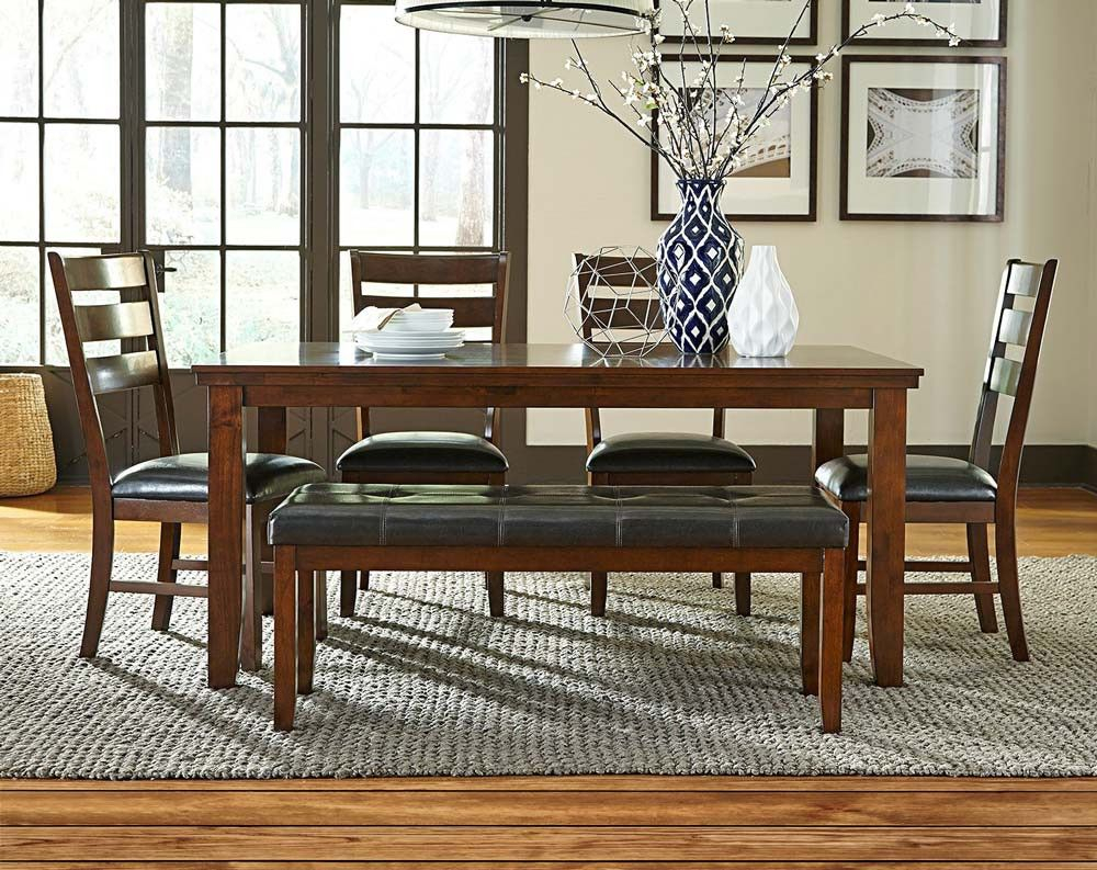 Anniston 5 Piece Dining Set (View 7 of 20)