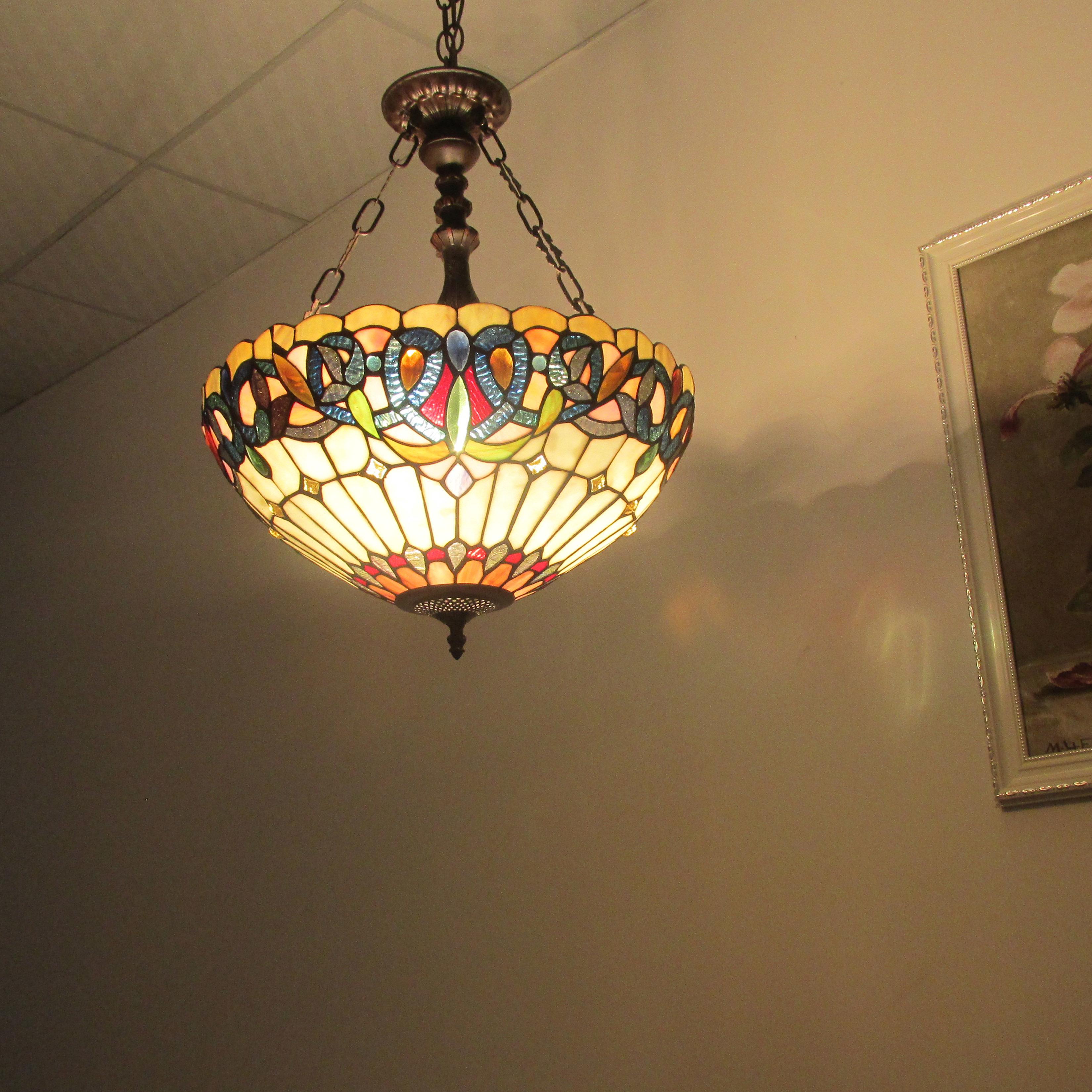 Astoria Grand Queener 3 Light Bowl Pendant (#3 of 20)