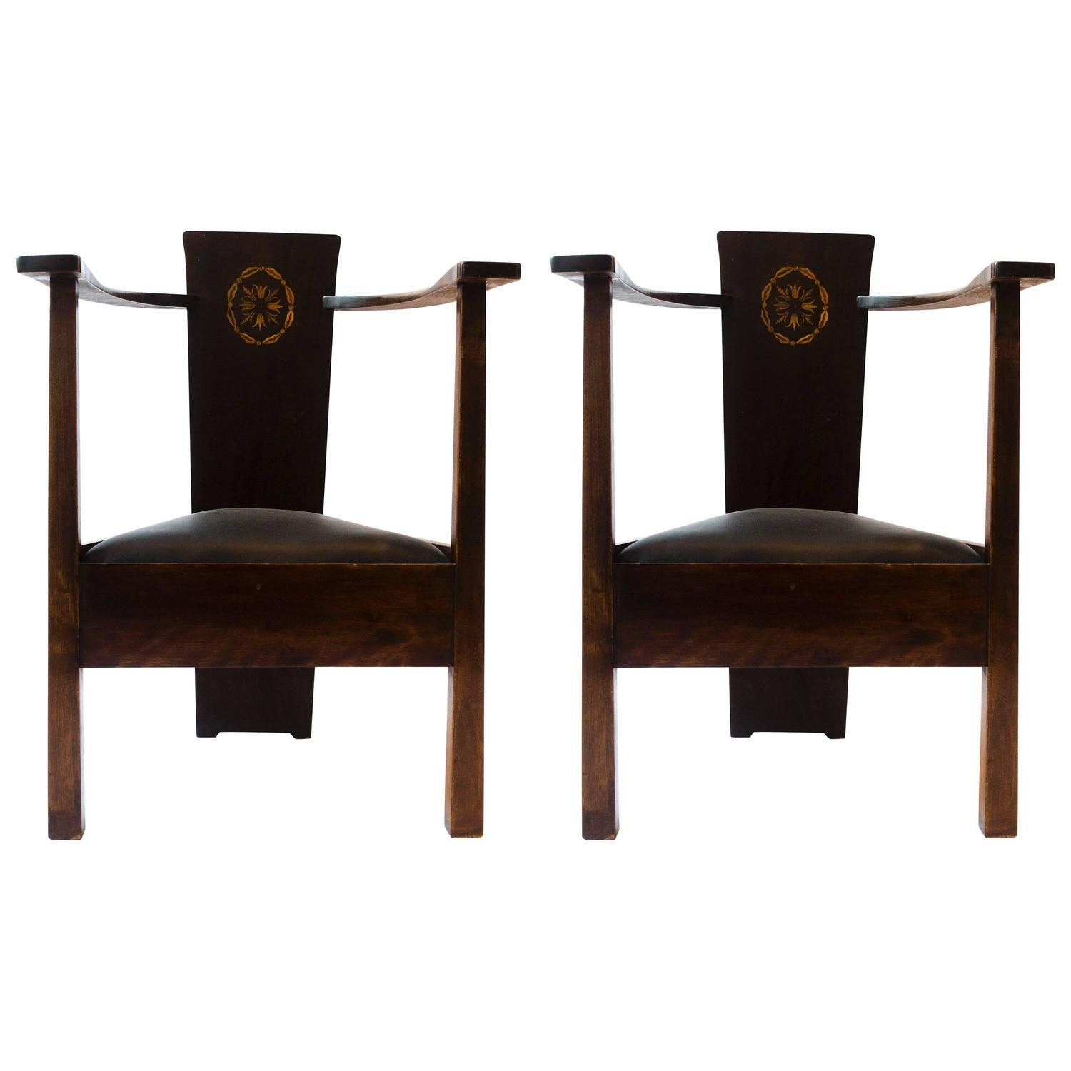 Baillie 3 Piece Dining Sets Regarding Best And Newest Mackay Hugh Baillie Scott Furniture – 6 For Sale At 1Stdibs (View 16 of 20)