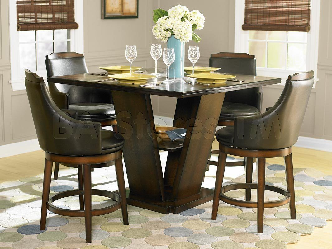 Bar, Pub Regarding Winsted 4 Piece Counter Height Dining Sets (View 9 of 20)