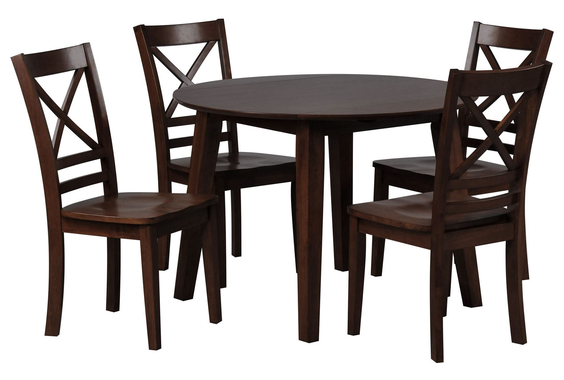 Baxton Studio Keitaro 5 Piece Dining Sets For Most Popular Living Spaces – 85185 – Signature (#4 of 20)