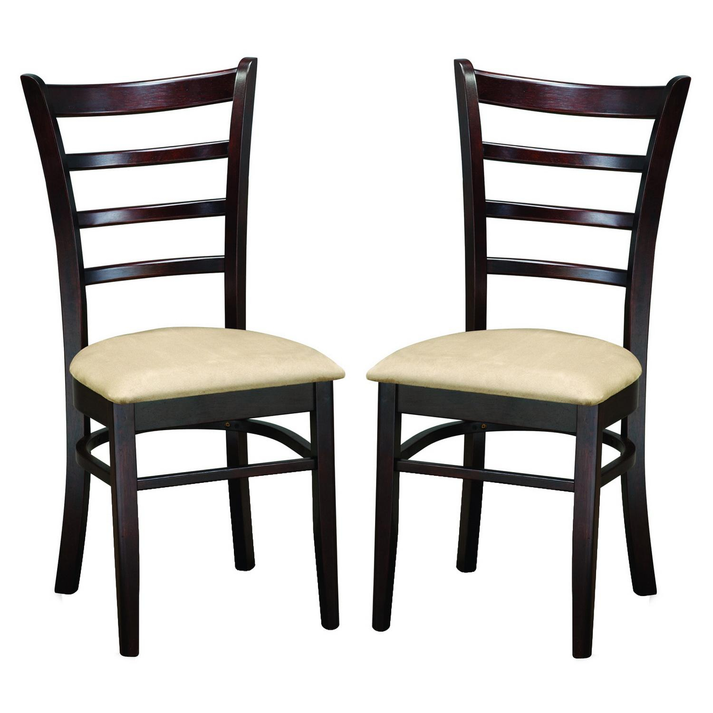 Baxton Studio Keitaro 5 Piece Dining Sets In Well Known Shop Keitaro Dark Brown Modern Dining Chairs (Set Of 2) – Free (#5 of 20)