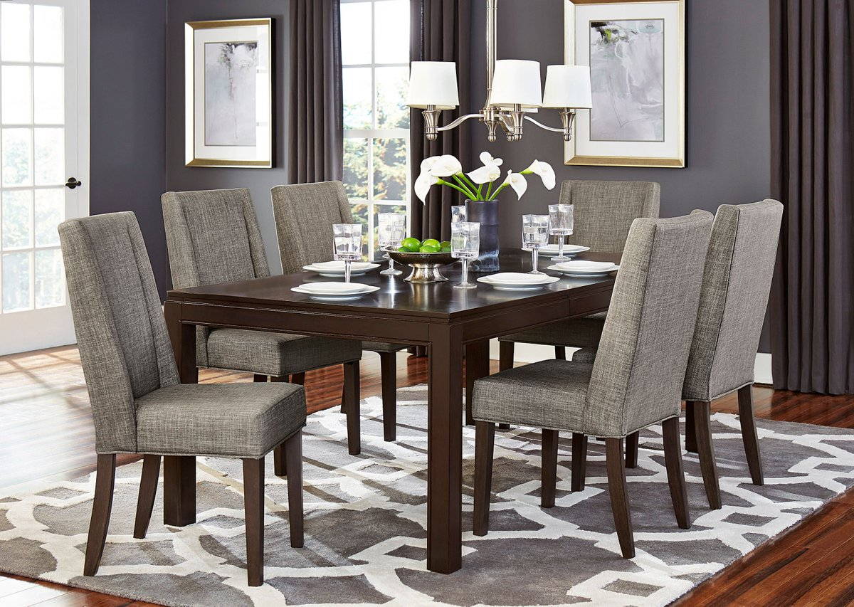 Baxton Studio Keitaro 5 Piece Dining Sets Intended For Recent Moderndiningset Hashtag On Twitter (#6 of 20)