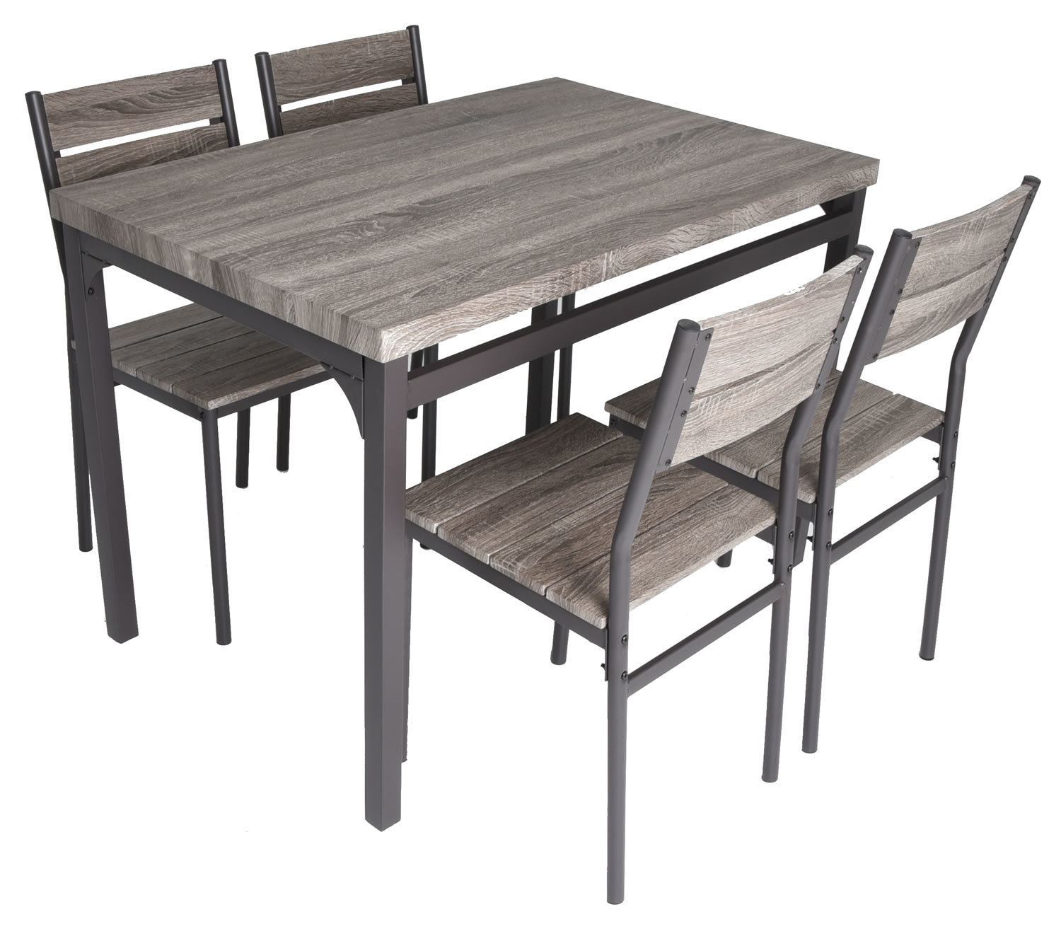 Best And Newest Gracie Oaks Emmeline 5 Piece Breakfast Nook Dining Set & Reviews Intended For 5 Piece Breakfast Nook Dining Sets (#4 of 20)
