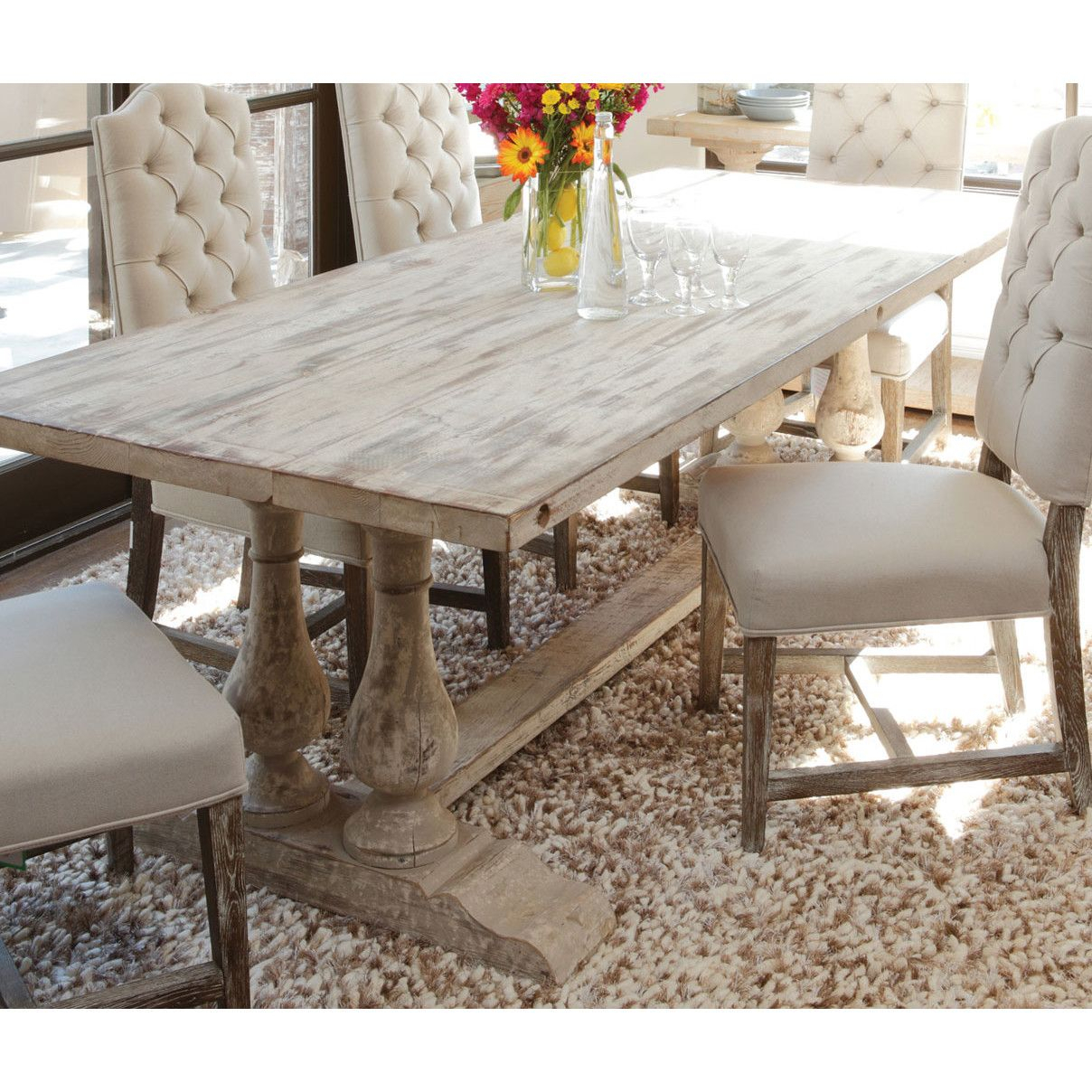 Best And Newest Pinterest Pertaining To Evellen 5 Piece Solid Wood Dining Sets (Set Of 5) (#3 of 20)