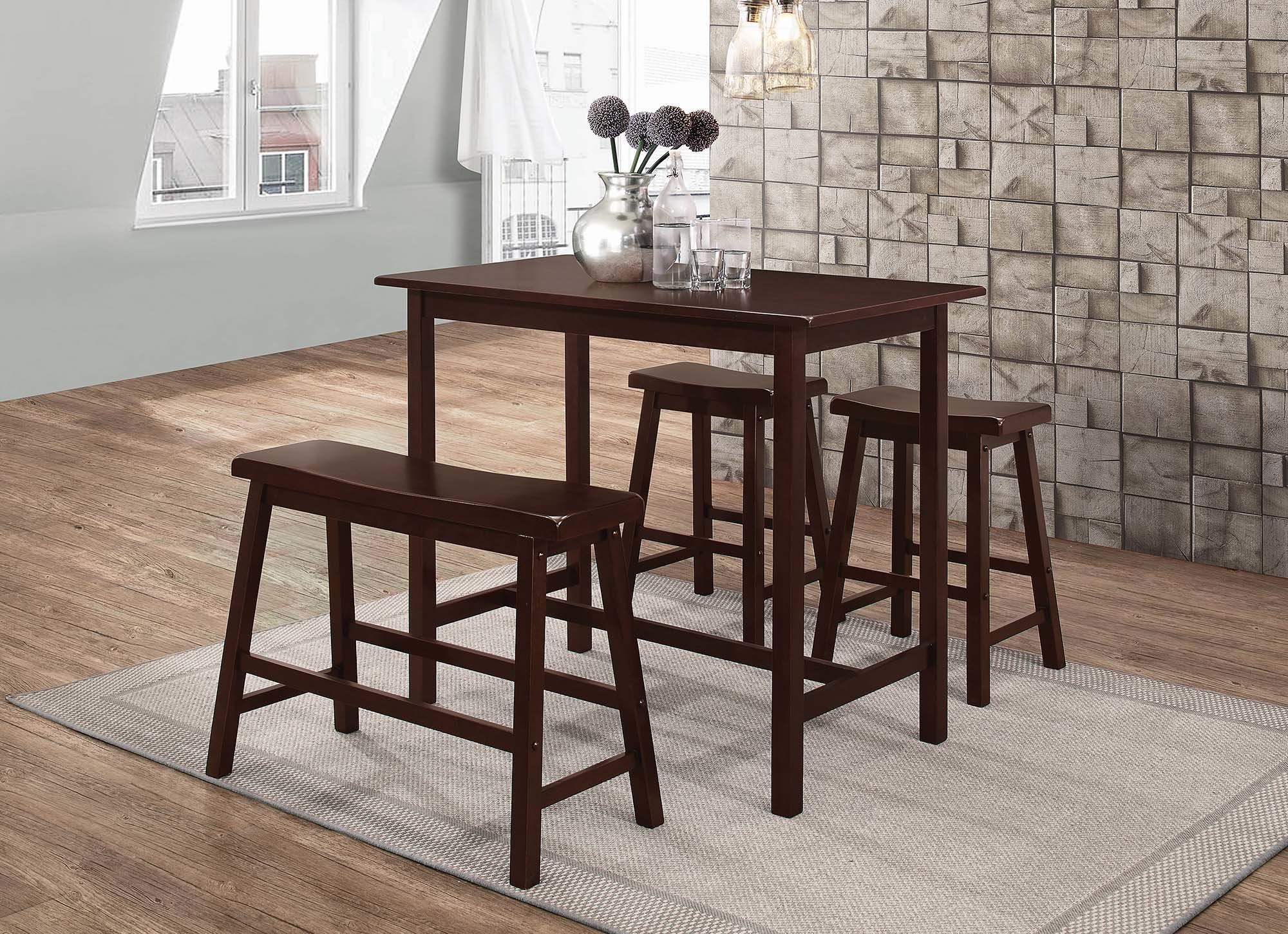 Best And Newest Winston Porter Tassone 4 Piece Dining Set (#5 of 20)