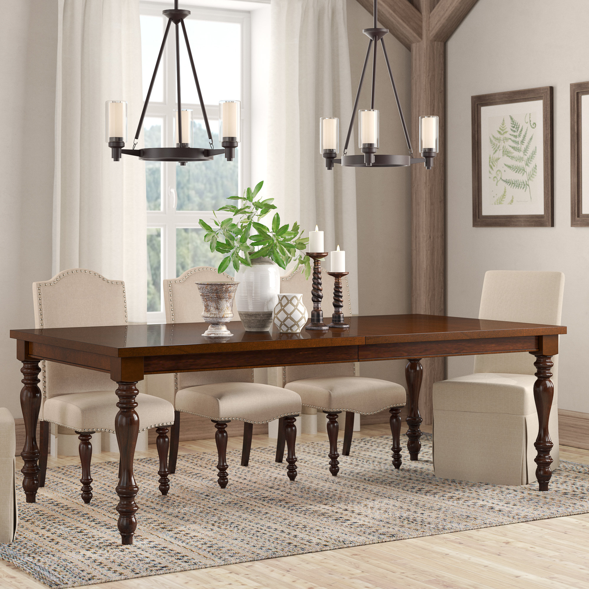 Inspiration about Birch Lane™ Heritage Calila Extendable Dining Table (#14 of 20)