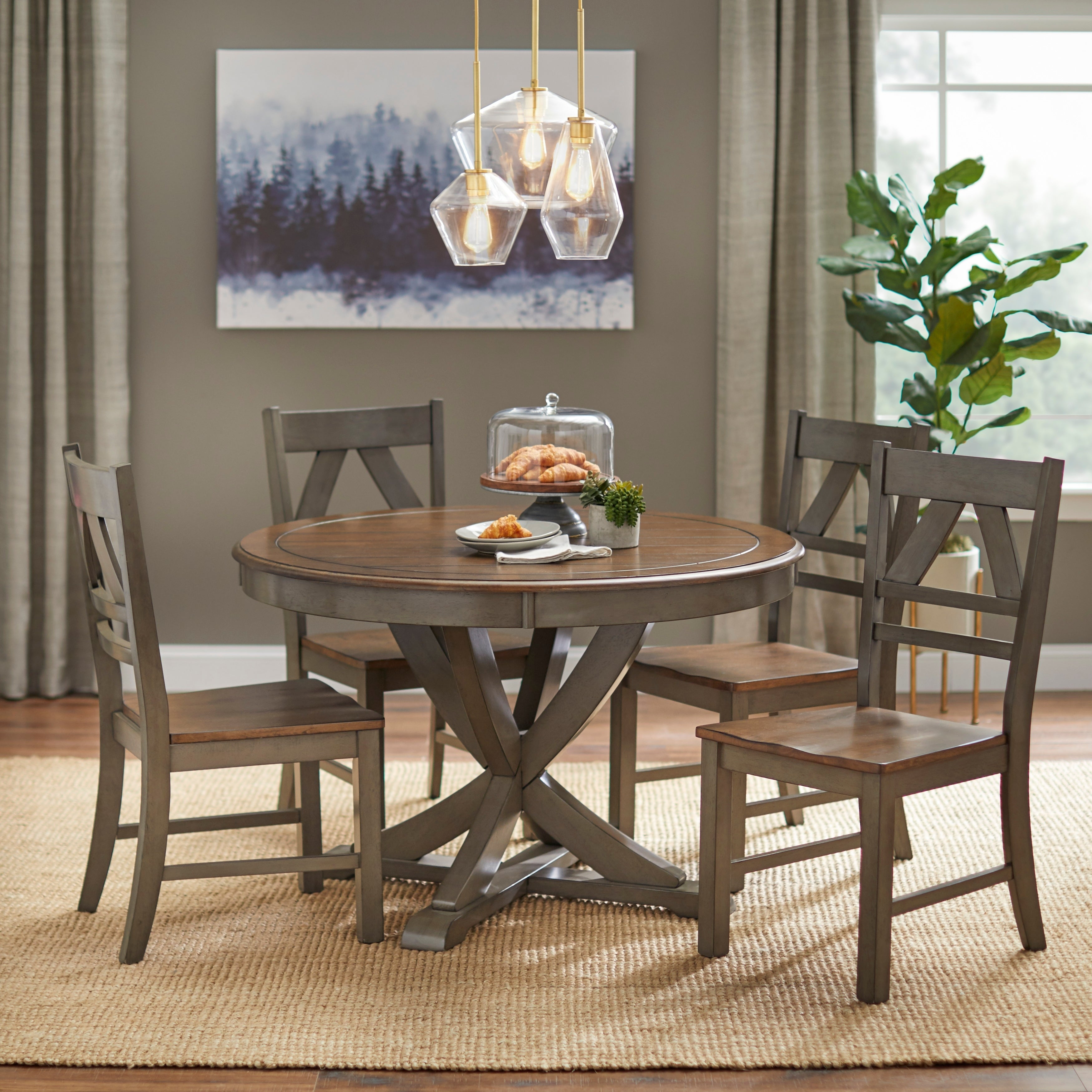 Buy 3 Piece Sets Kitchen & Dining Room Sets Online At Overstock With Recent Frida 3 Piece Dining Table Sets (#4 of 20)