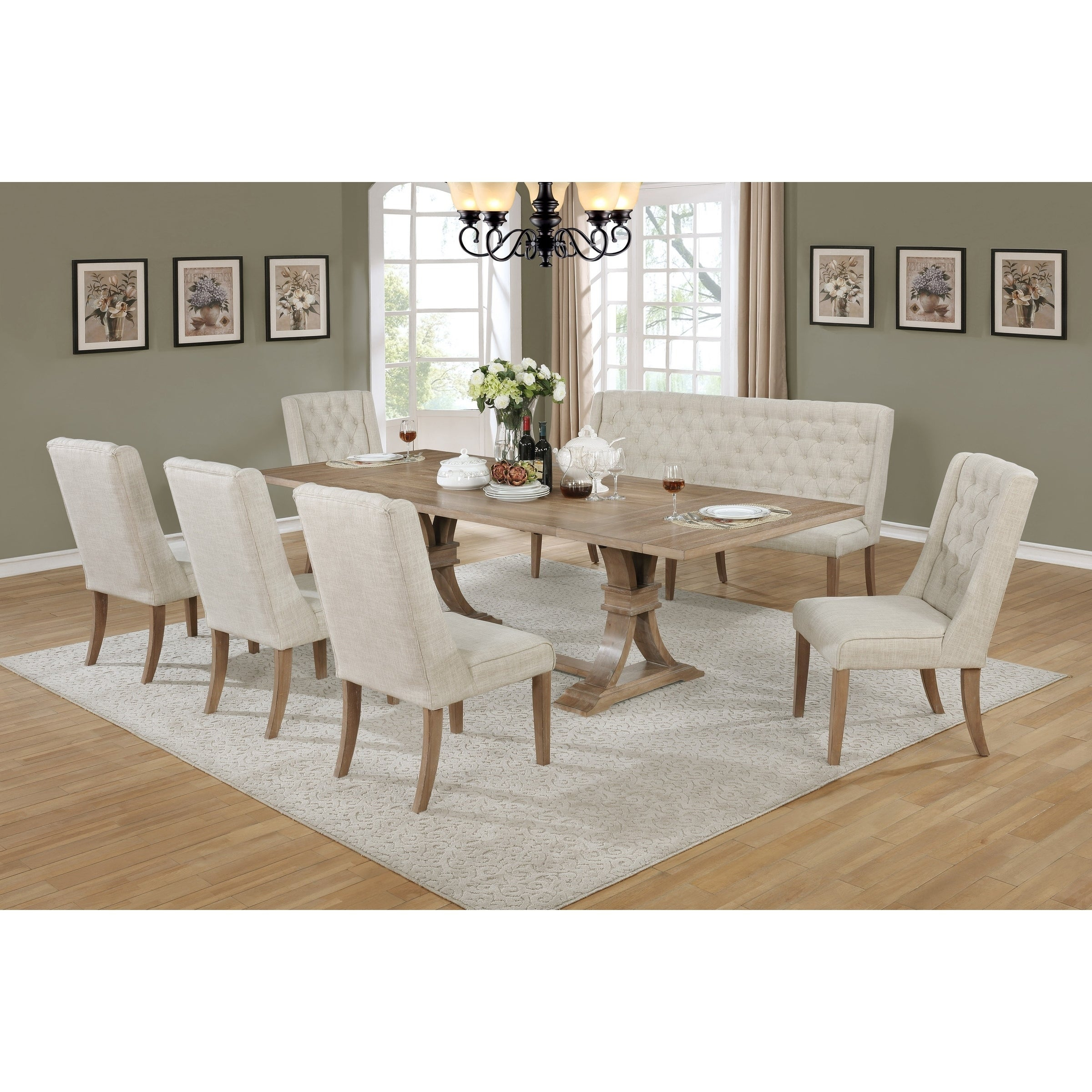 Buy 7 Piece Sets Kitchen & Dining Room Sets Online At Overstock With Regard To Well Liked Autberry 5 Piece Dining Sets (#6 of 20)