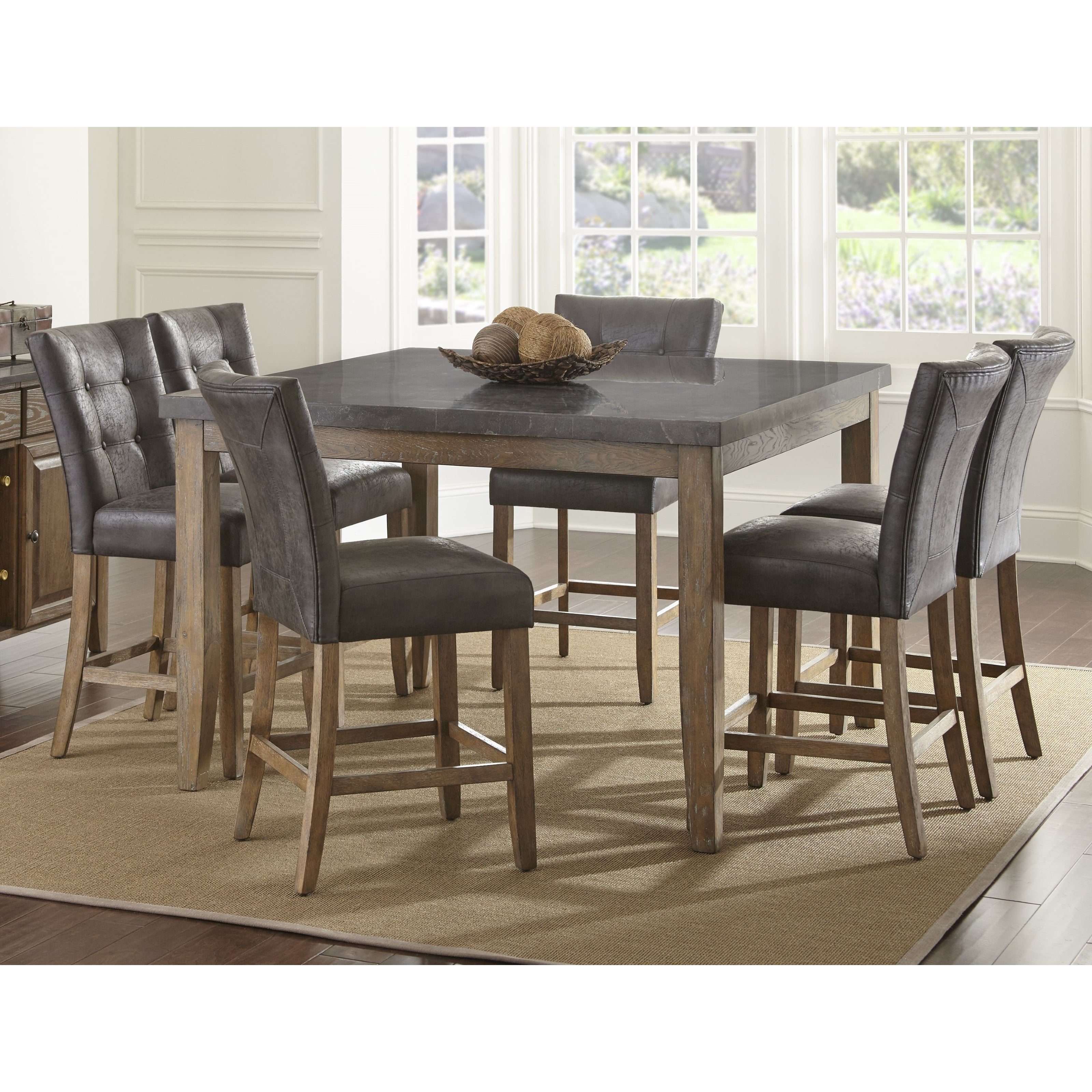 Cargo 5 Piece Dining Sets Regarding Preferred Buy 5 Piece Sets Kitchen & Dining Room Sets Online At Overstock (#6 of 20)