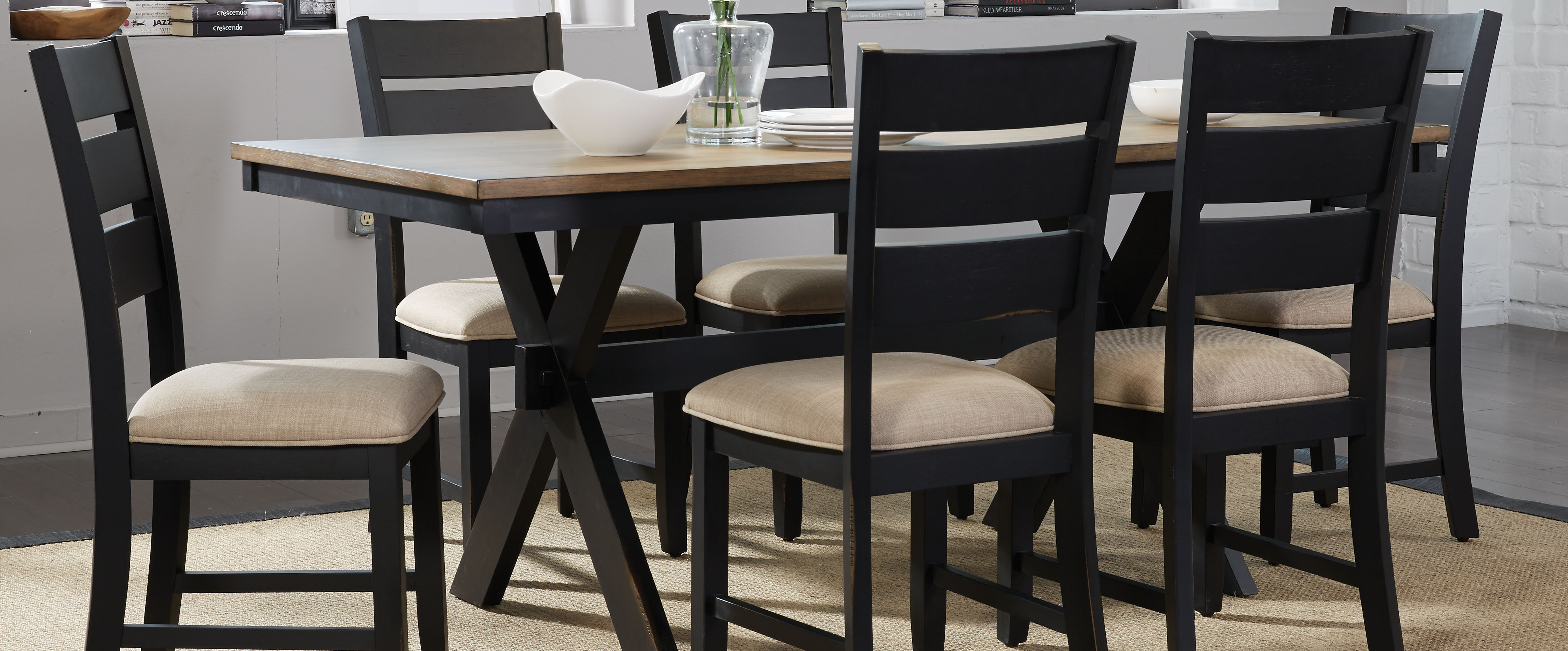 Cincinnati 3 Piece Dining Sets Pertaining To Most Recent Dinette Sets – Sims Furniture Company (View 8 of 20)