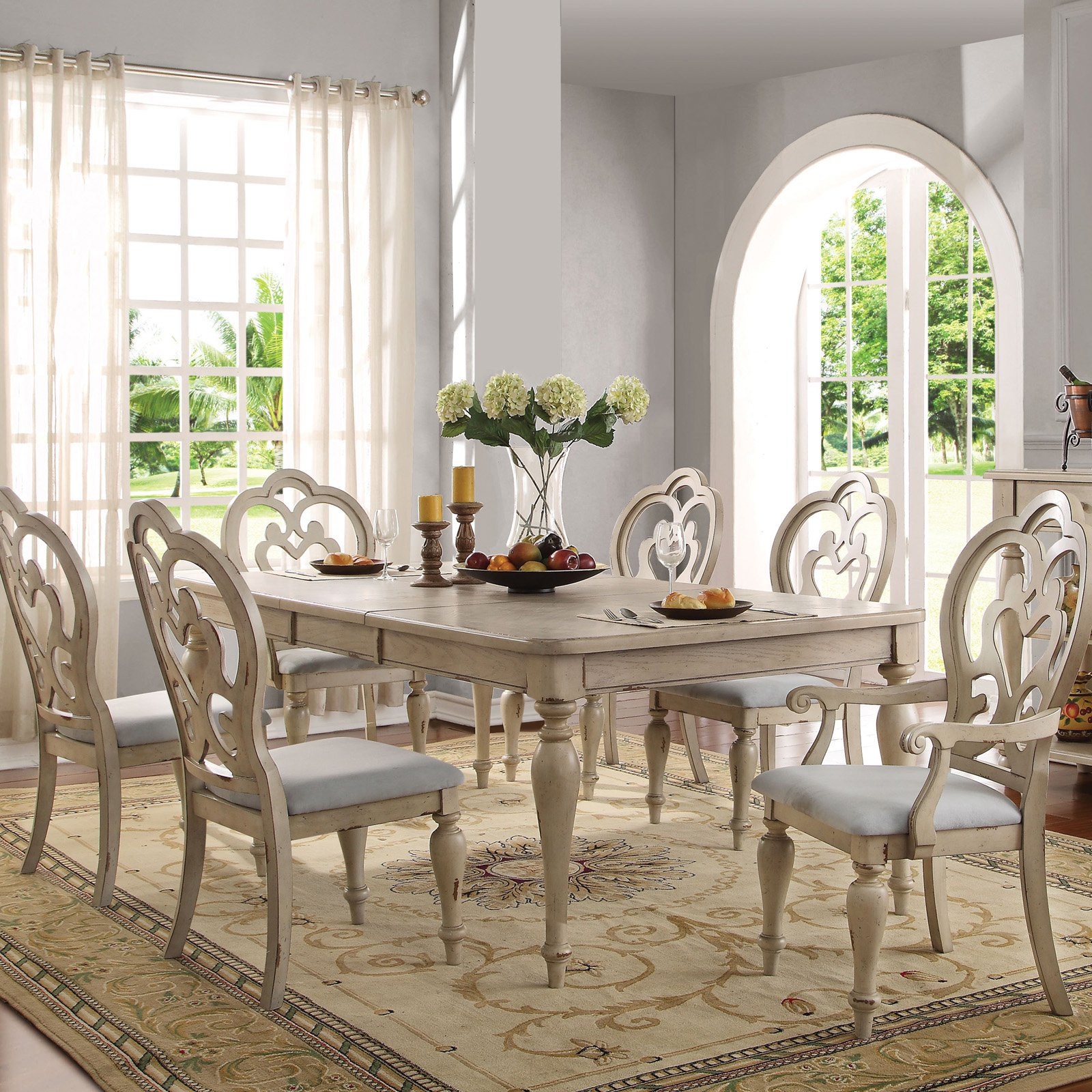 Country Intended For Chelmsford 3 Piece Dining Sets (View 6 of 20)