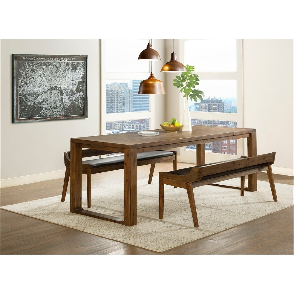 Current Lonon 3 Piece Dining Sets For Shop Rasmus Mid Century Wood 3 Piece Dining Set – Free Shipping (View 3 of 20)