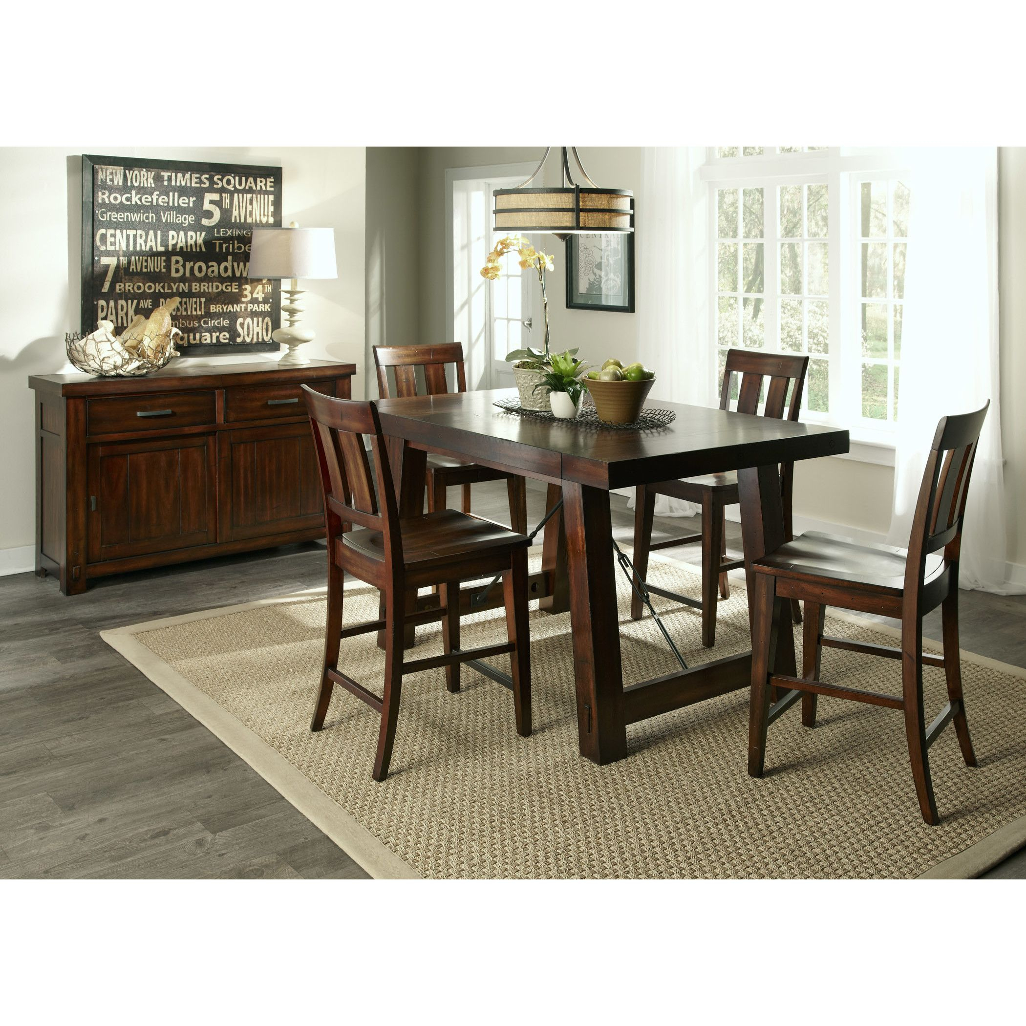 Current Shop Wayfair For Kitchen & Dining Tables To Match Every Style And For Goodman 5 Piece Solid Wood Dining Sets (Set Of 5) (View 3 of 20)