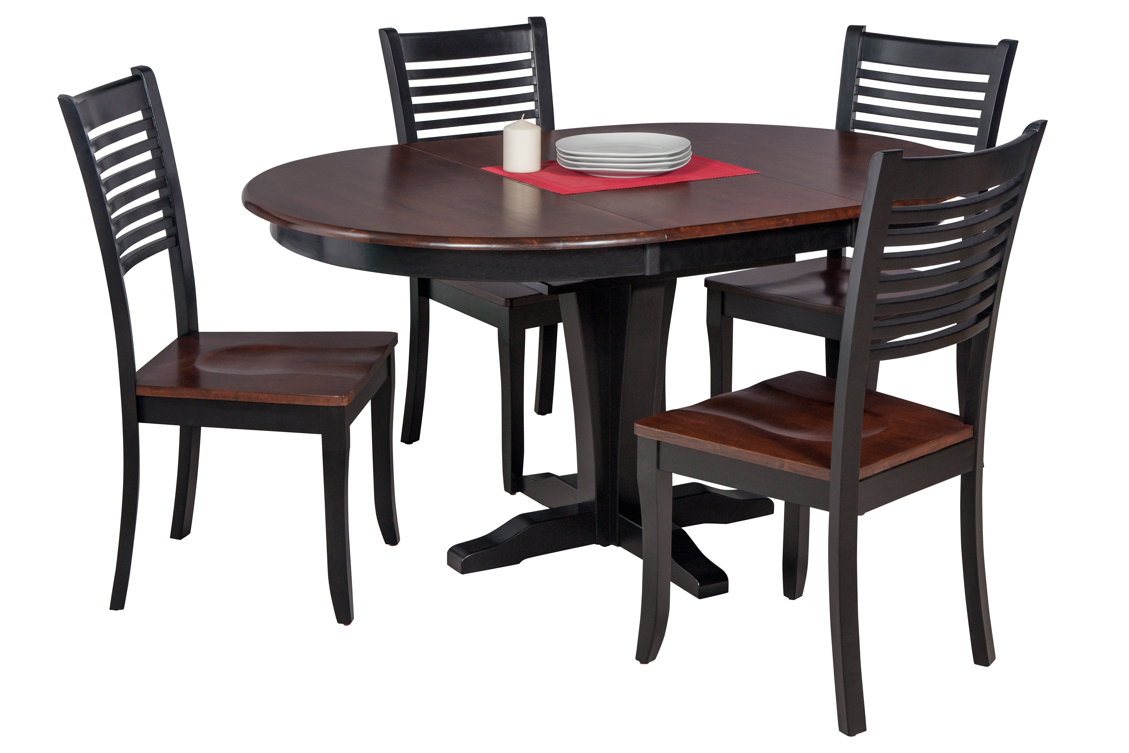 Darby Home Co Maryrose 5 Piece Solid Wood Dining Set (#1 of 20)