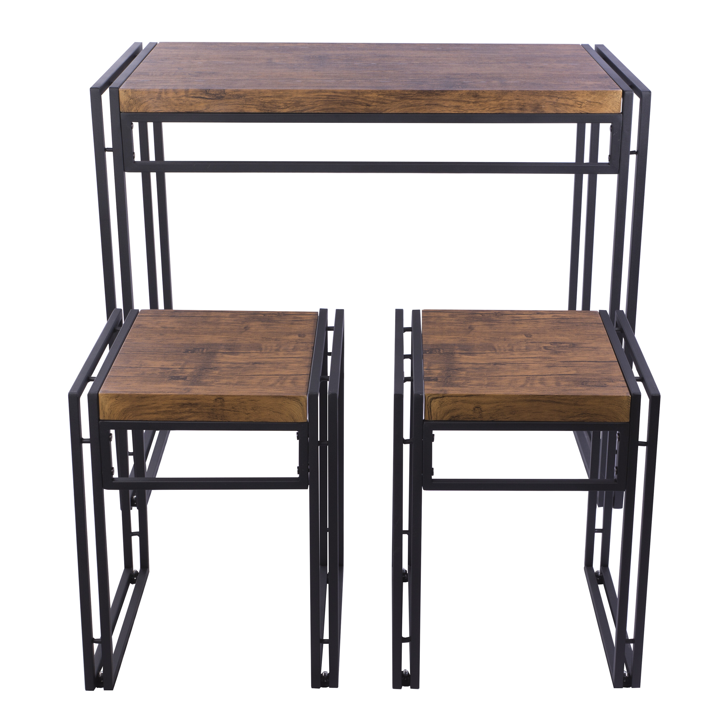 Debby Small Space 3 Piece Dining Set (View 20 of 20)