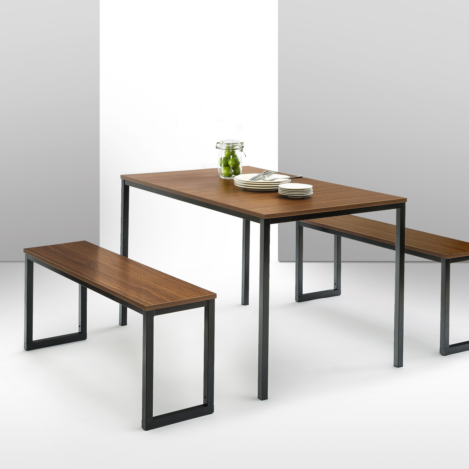 Debby Small Space 3 Piece Dining Sets Intended For Famous Frida 3 Piece Dining Table Set & Reviews (#3 of 20)