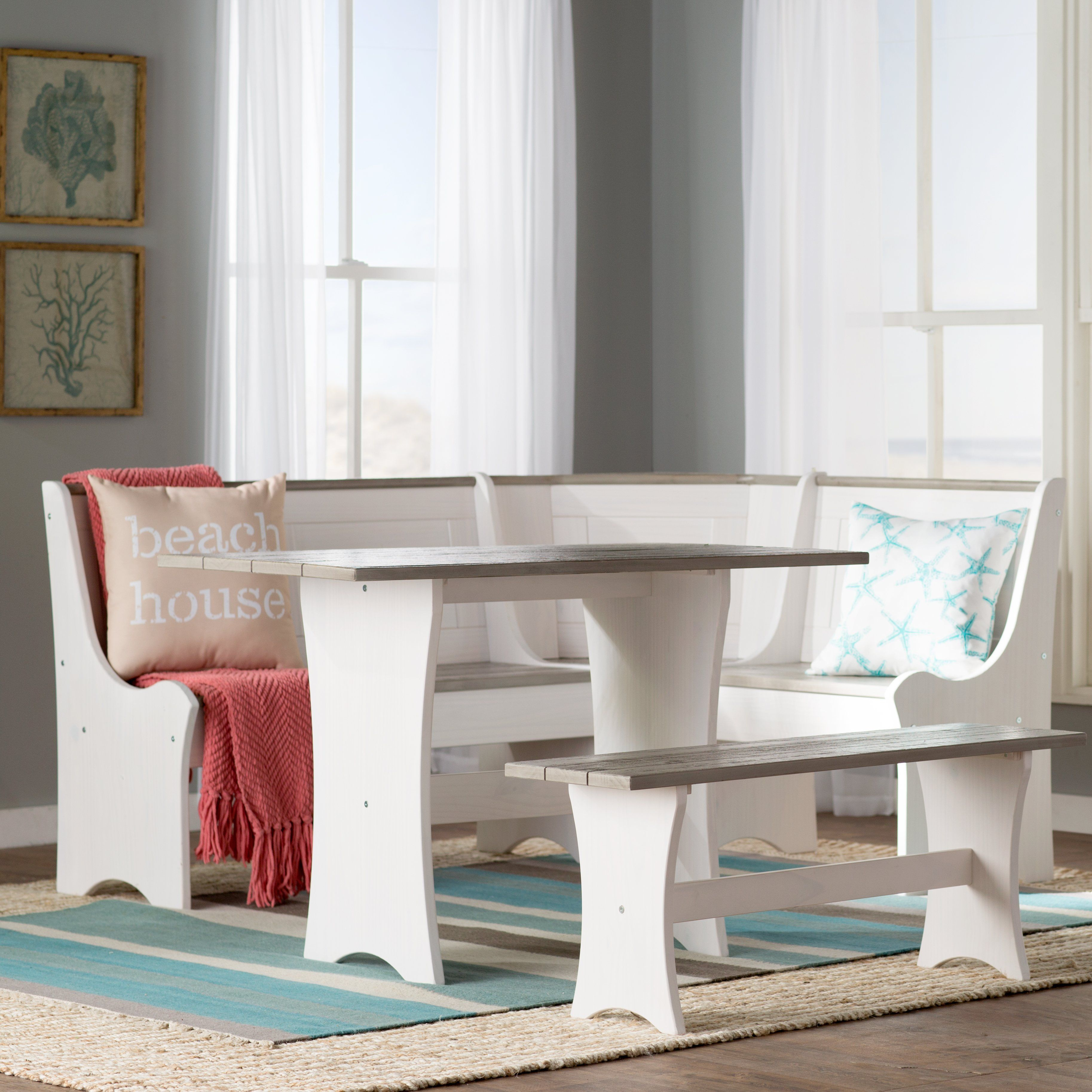 Inspiration about Dining, Breakfast Within 3 Piece Breakfast Nook Dinning Set (#15 of 20)