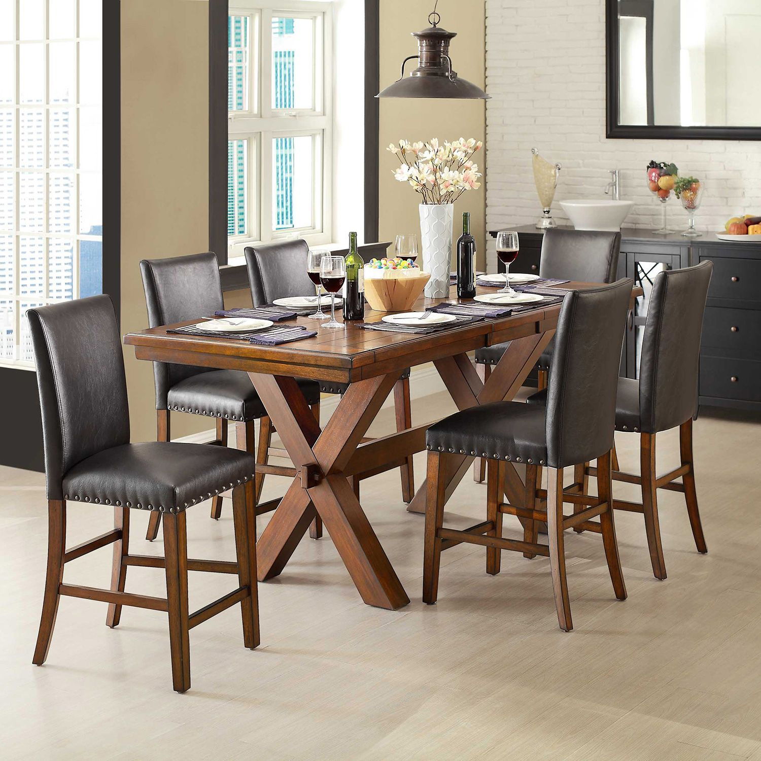 Inspiration about Dining Inside Winsted 4 Piece Counter Height Dining Sets (#17 of 20)