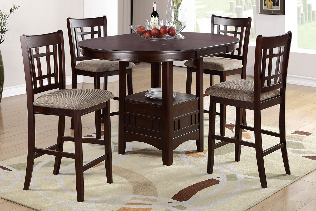 Inspiration about Dining Room And Dinette Super Center Inside Newest Cargo 5 Piece Dining Sets (#6 of 20)