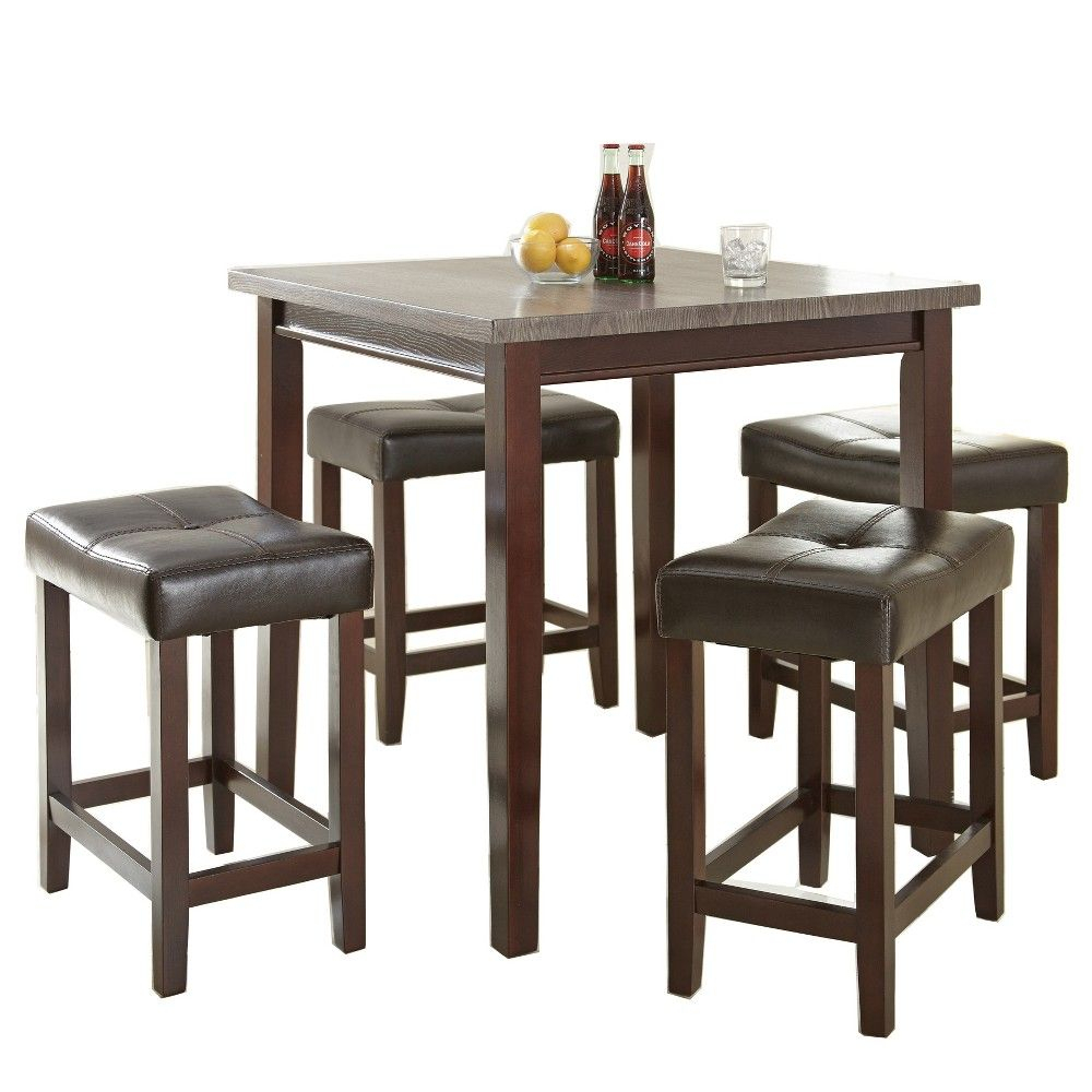 Dining Set, 5 For Mysliwiec 5 Piece Counter Height Breakfast Nook Dining Sets (#4 of 20)