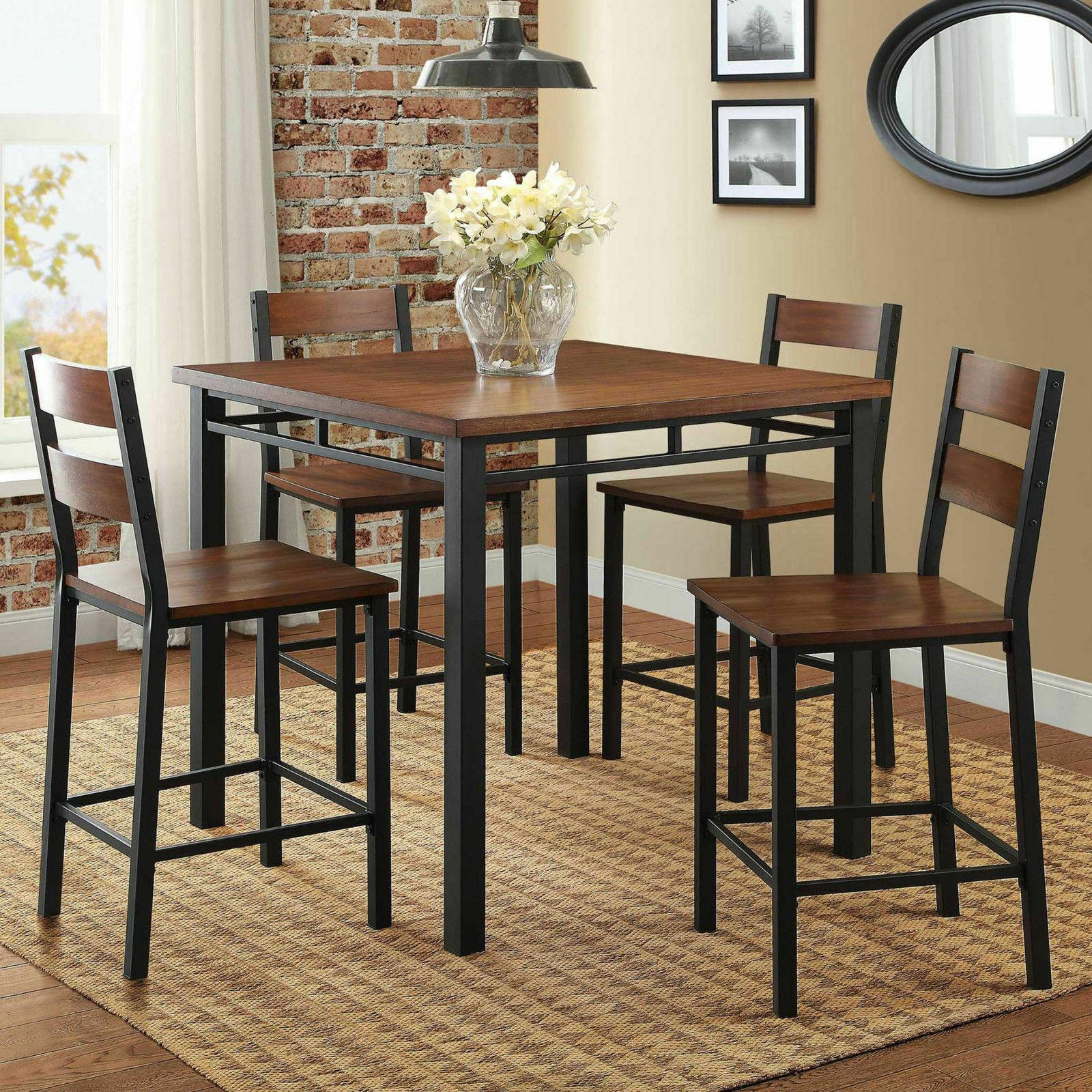 Inspiration about Dining Table Inside Noyes 5 Piece Dining Sets (#8 of 20)