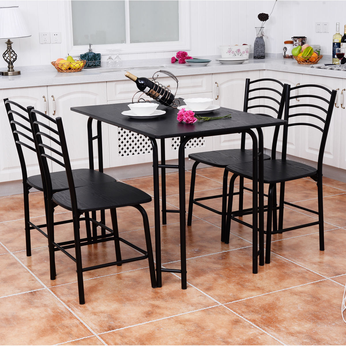 Ebay Pertaining To Famous Ephraim 5 Piece Dining Sets (View 5 of 20)