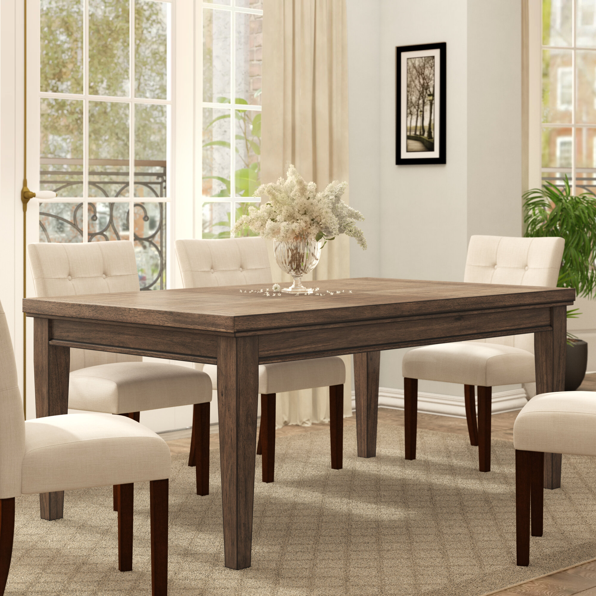 Ephraim 5 Piece Dining Sets Within Best And Newest Three Posts Penwortham Dining Table (View 13 of 20)