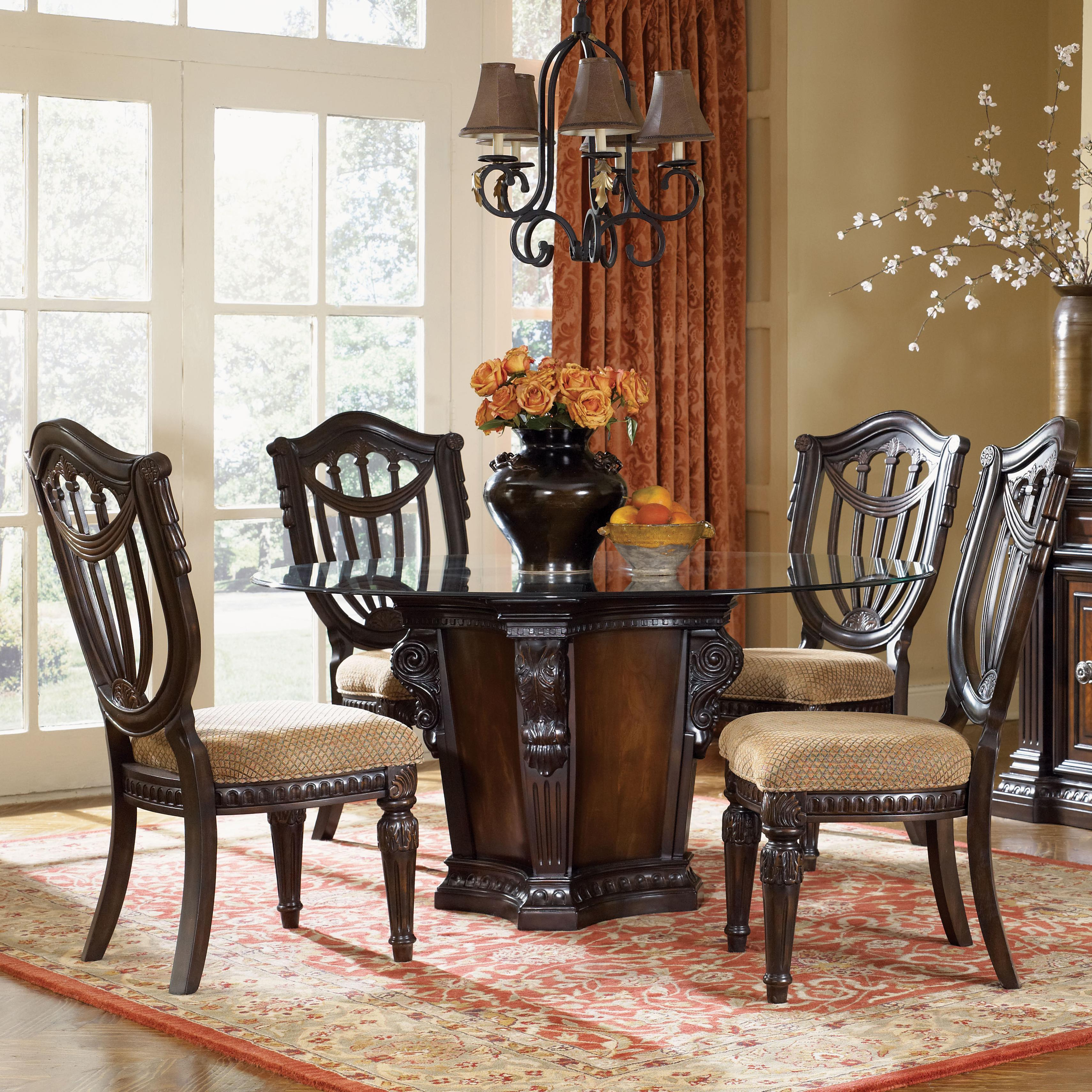 Fairmont Designs Grand Estates 5 Piece Dining Table And Chairs Set In Recent 5 Piece Dining Sets (#10 of 20)